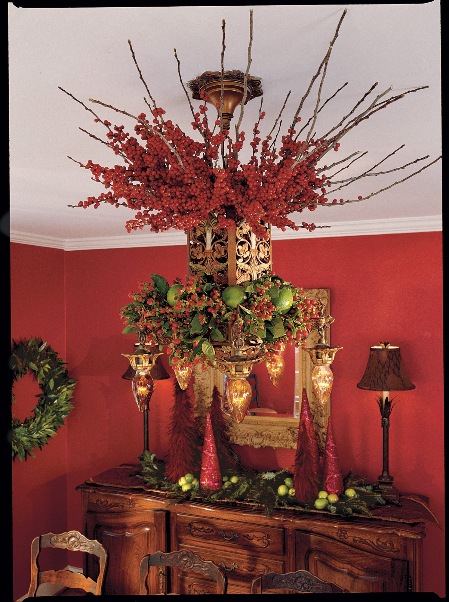 Berry Branch Chandelier
