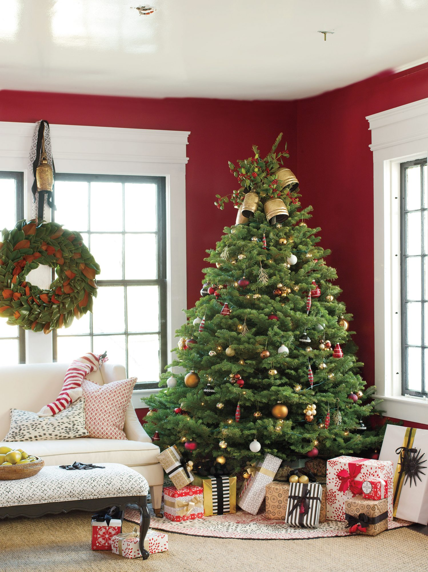 Colorful Classic Christmas Tree