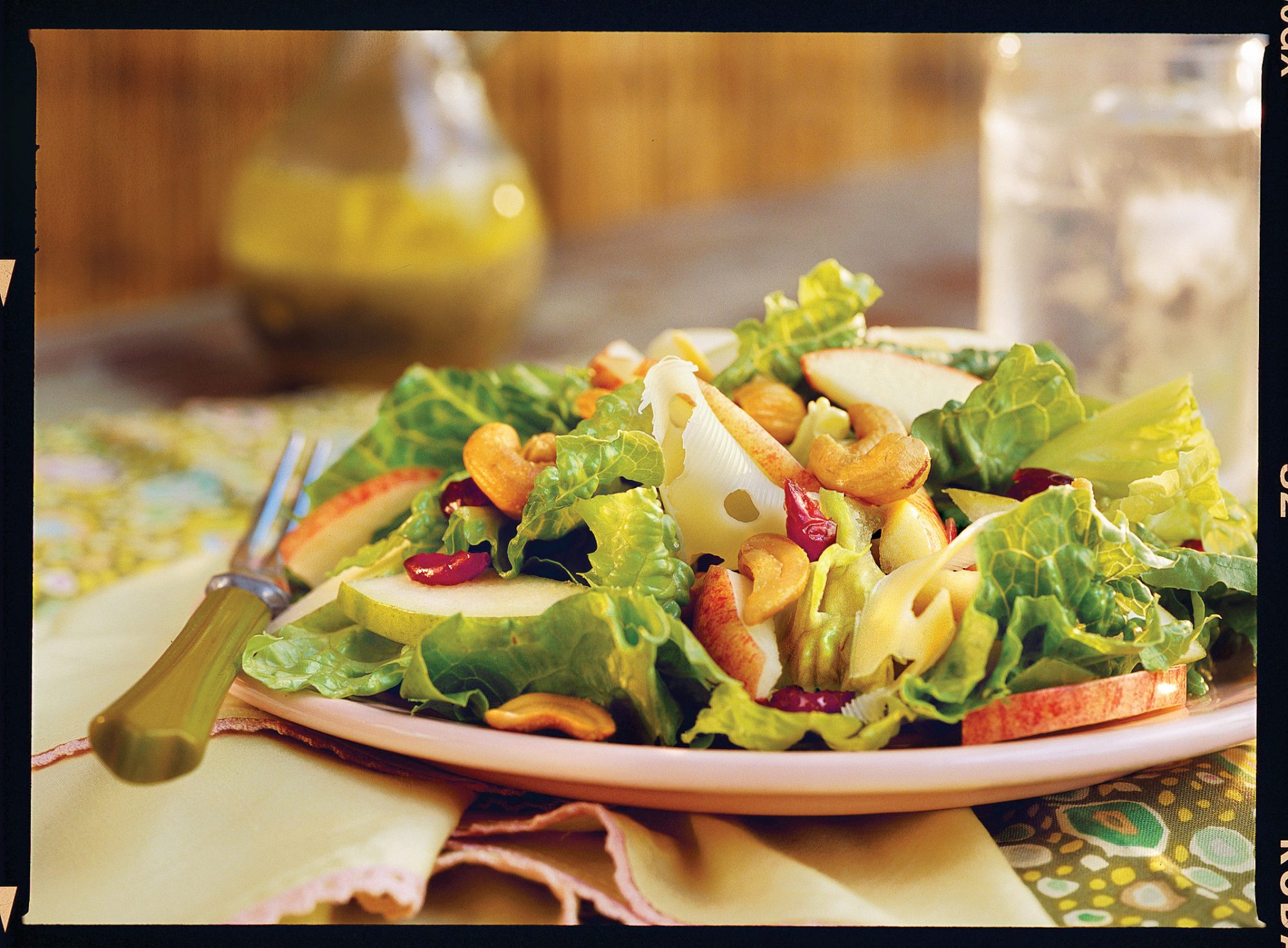 Apple-Pear Salad With Lemon-Poppy Seed Dressing