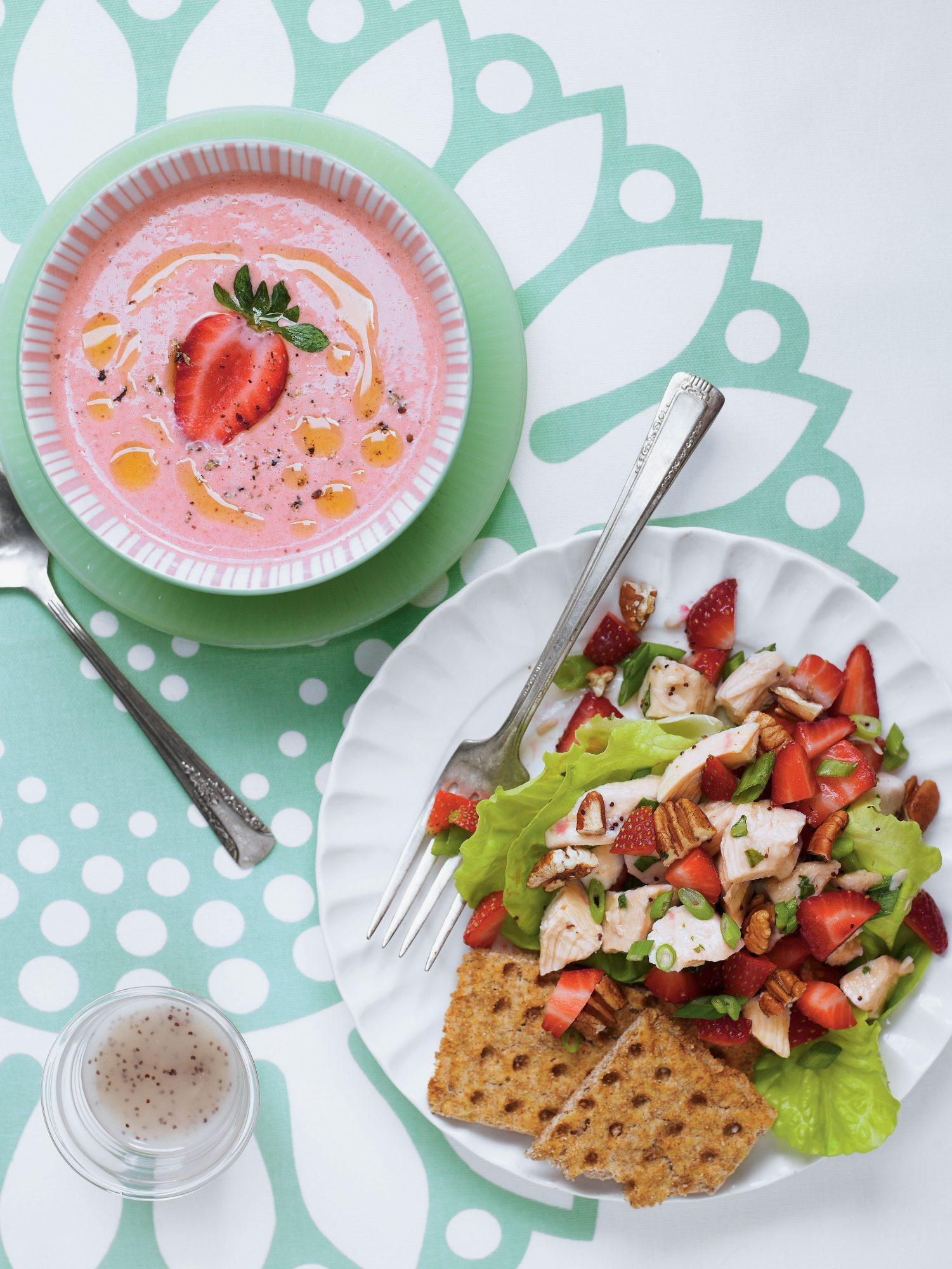 Chilled Strawberry Soup Recipe