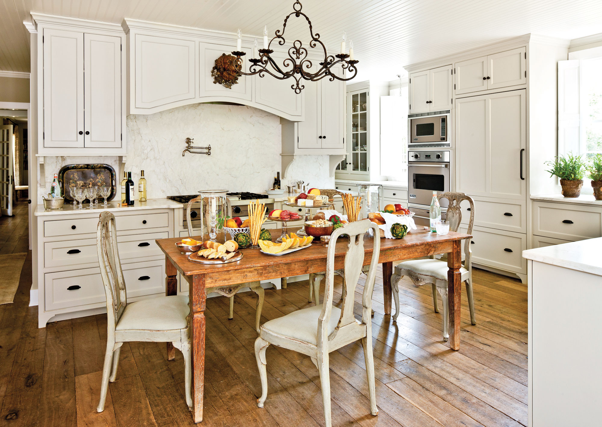 ranch style kitchen counters our best cottage kitchens southern living
