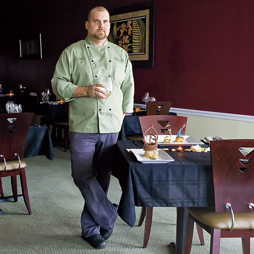 Chef David Miller of Savant Fine Dining