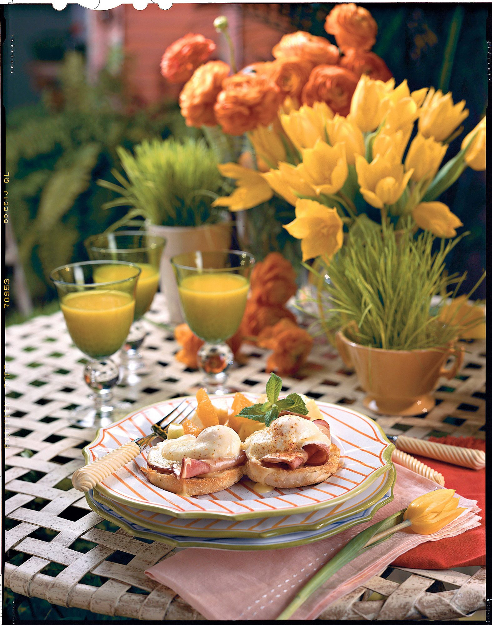 Eggs Benedict Goes Southern