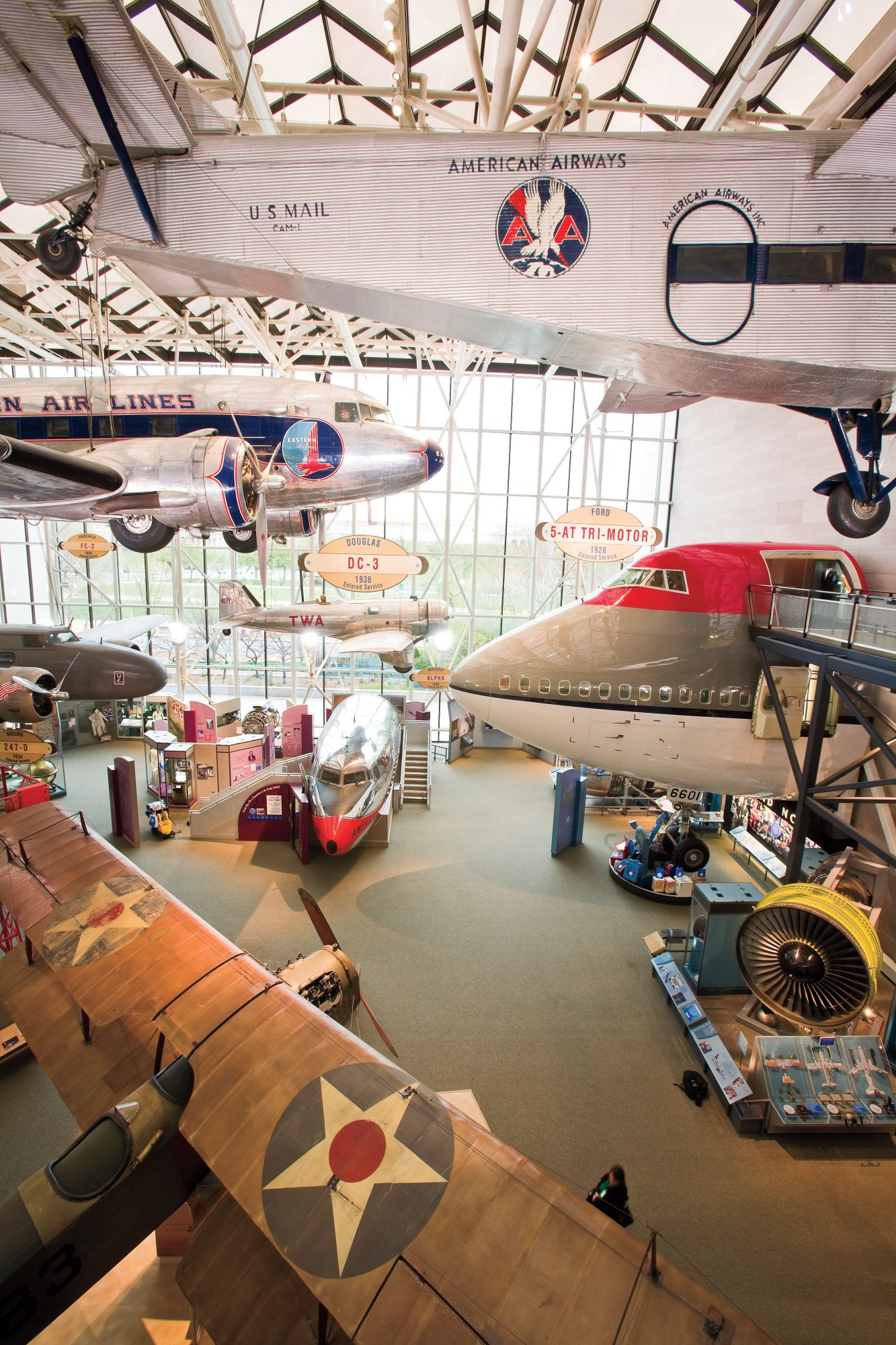 picture of National Air and Space Museum interior