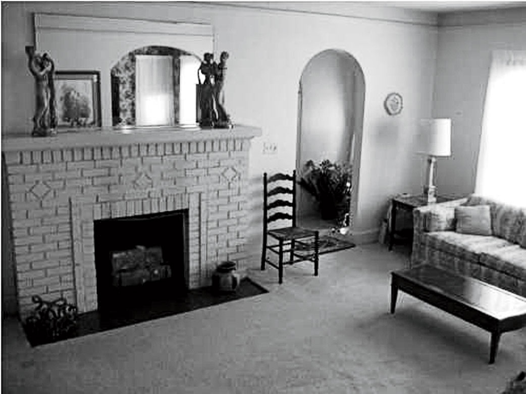 Before: Warmed-Up Living Room