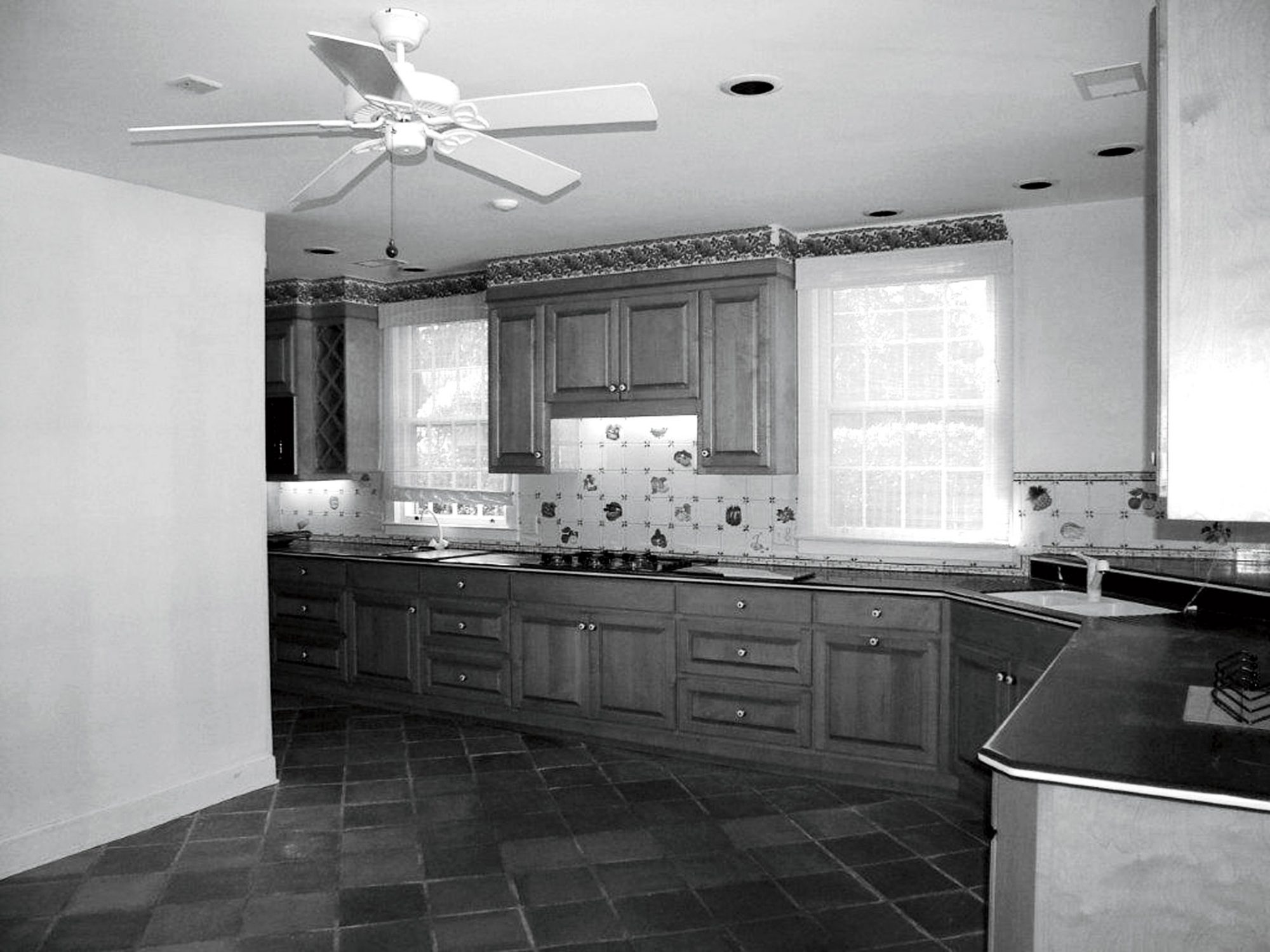 Before: Stable Overhaul Kitchen