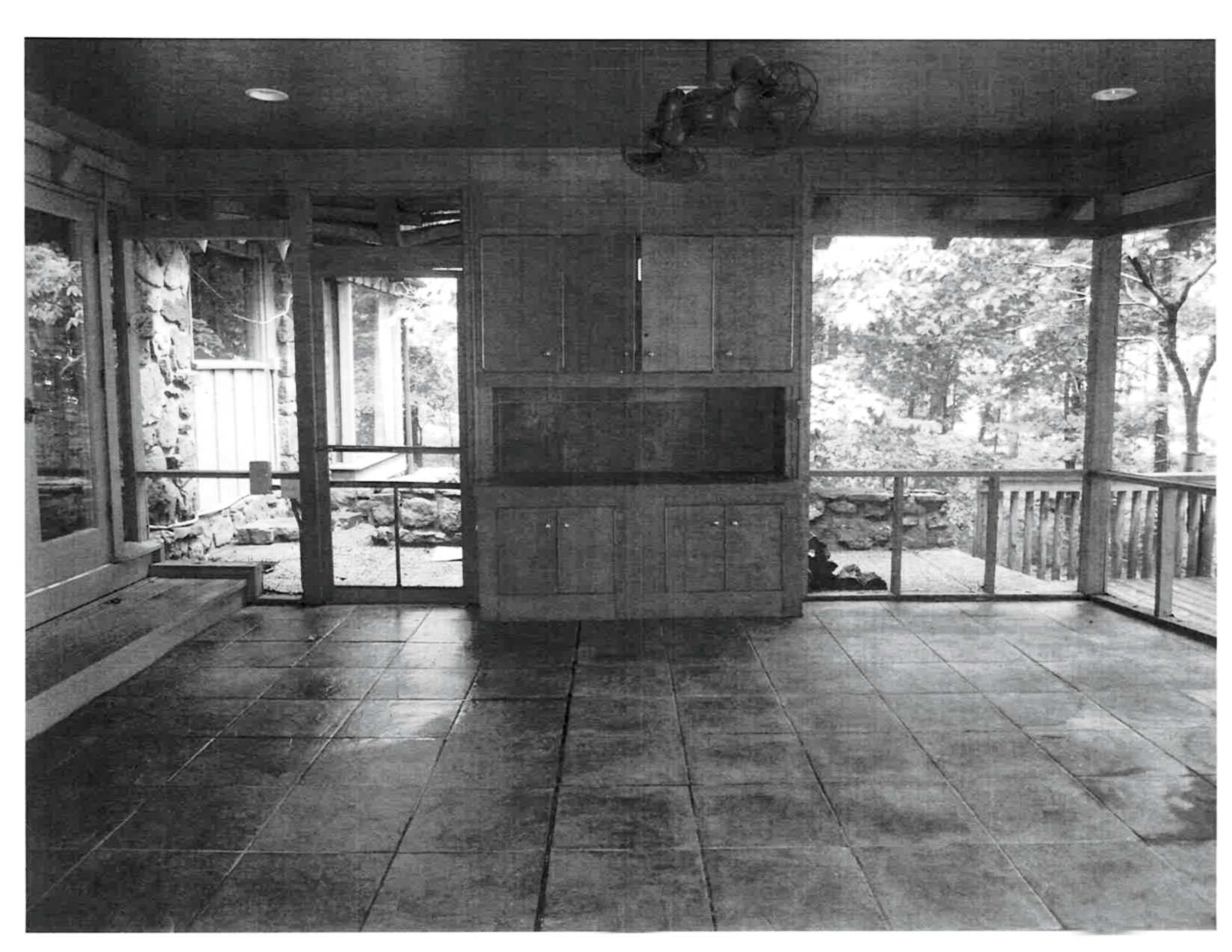 Before: Lake House Screened Porch