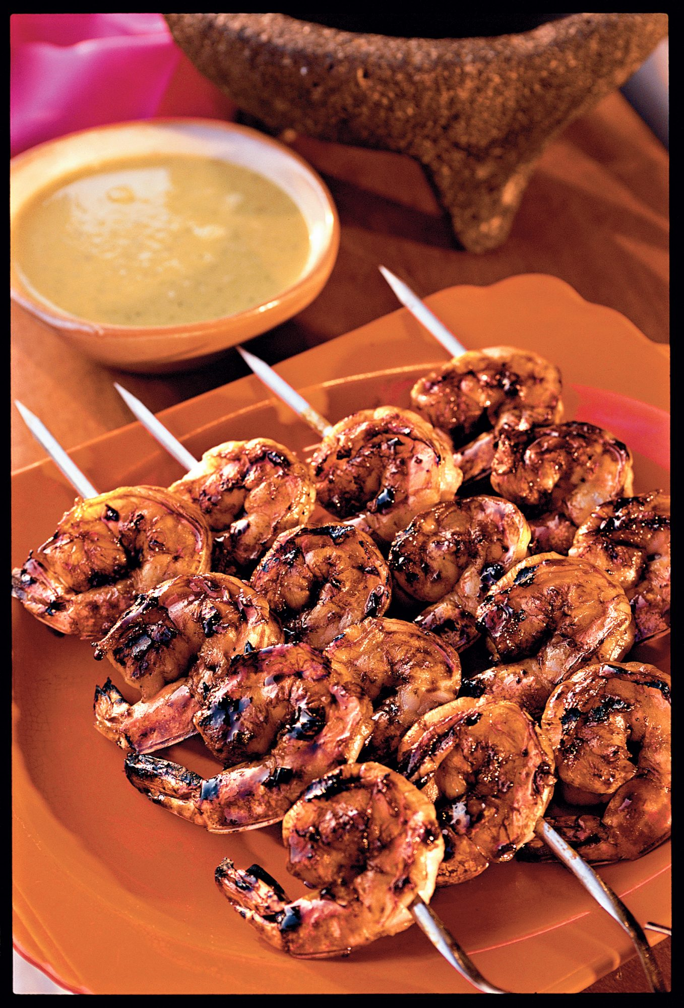 Mexican-Grilled Shrimp with Smoky Sweet Sauce Recipes