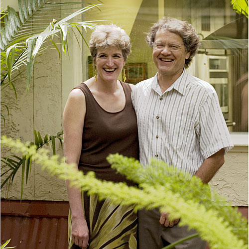 Architects Jane and Michael Frederick