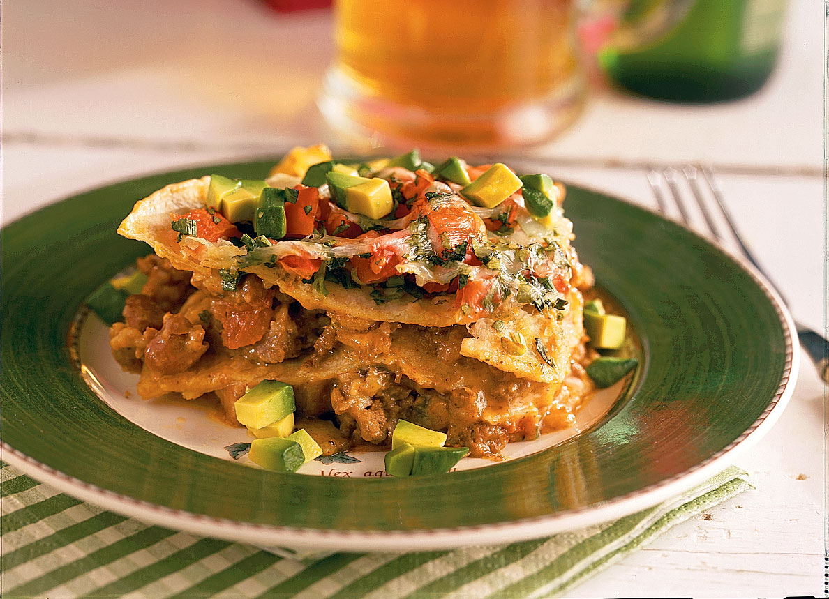 40 quick ground beef recipes southern living ground beef recipes mexican lasagna forumfinder Gallery