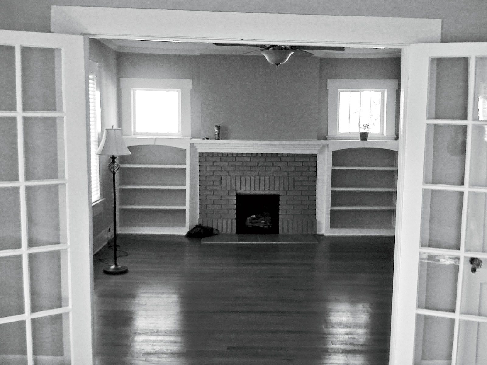 Before: Bungalow Renovation Living Room