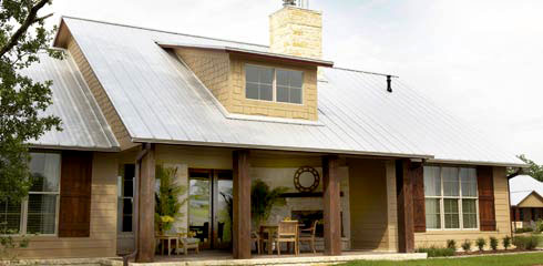 exterior rear of the 2009 Giveaway Home in Brian Texas