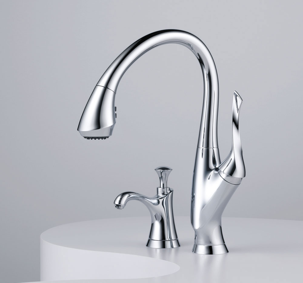 Brizo Belo Kitchen Pull Down Faucet