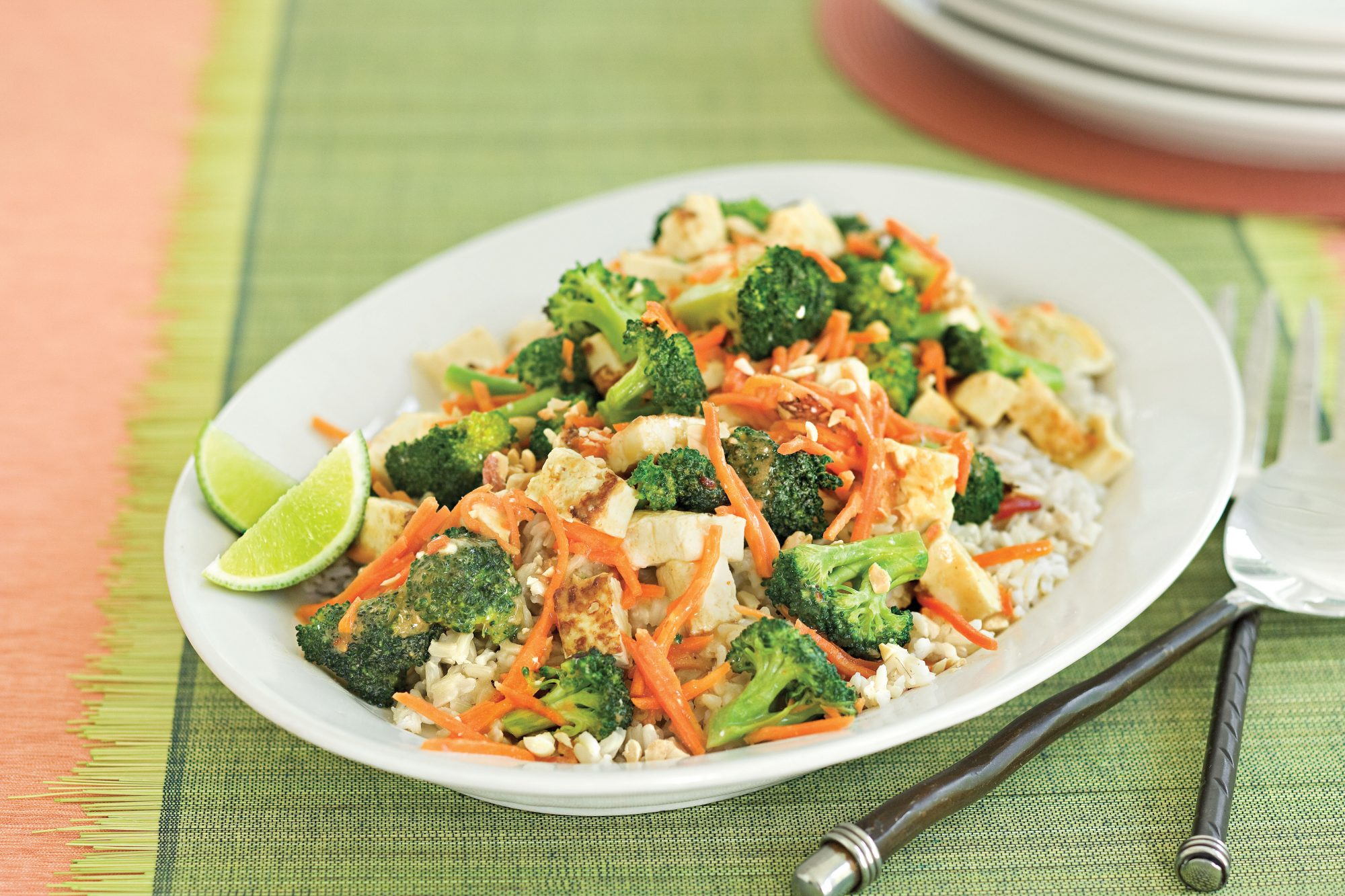 Peanut-Broccoli Stir-fry Recipe