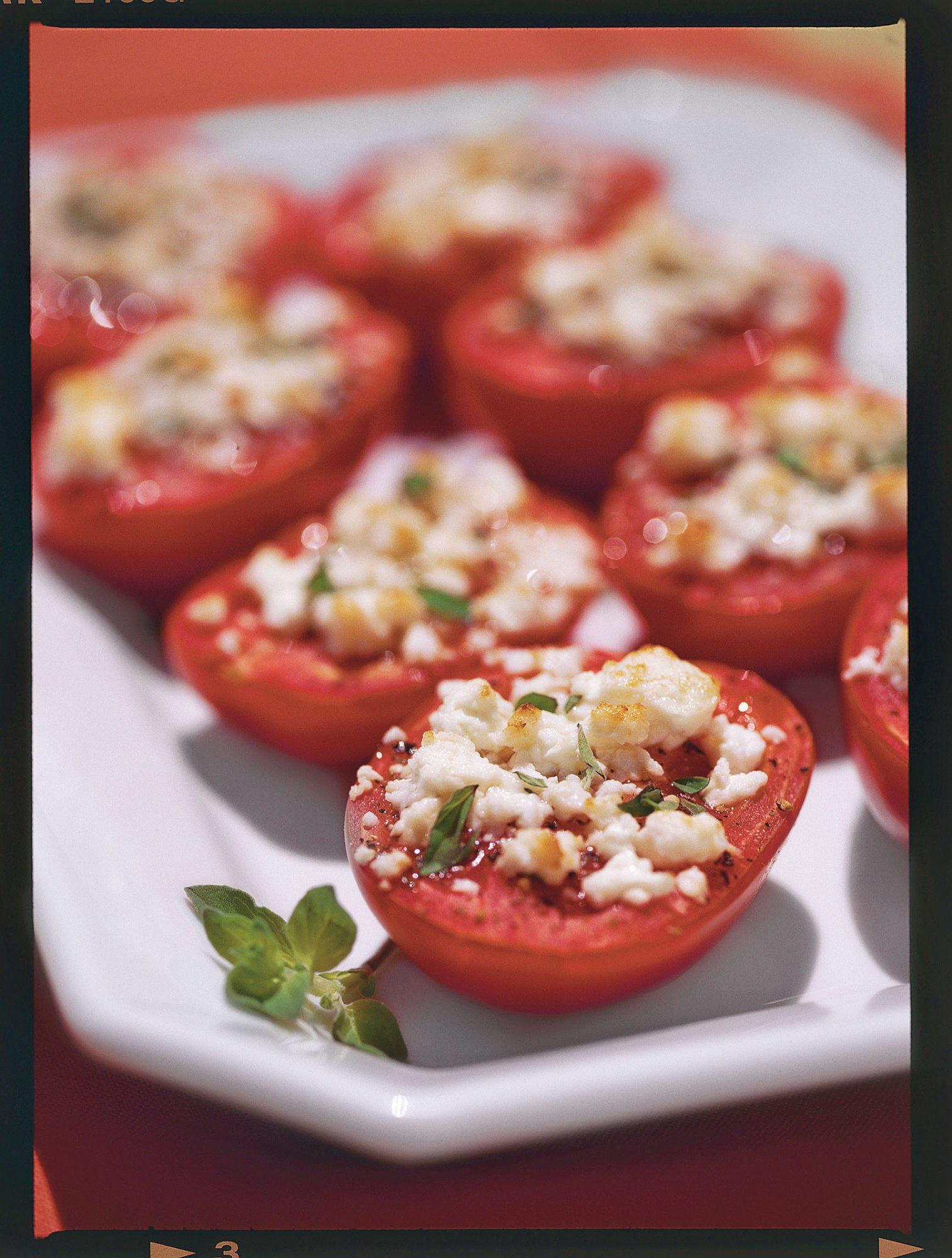 Broiled Tomatoes with Feta Cheese Recipe