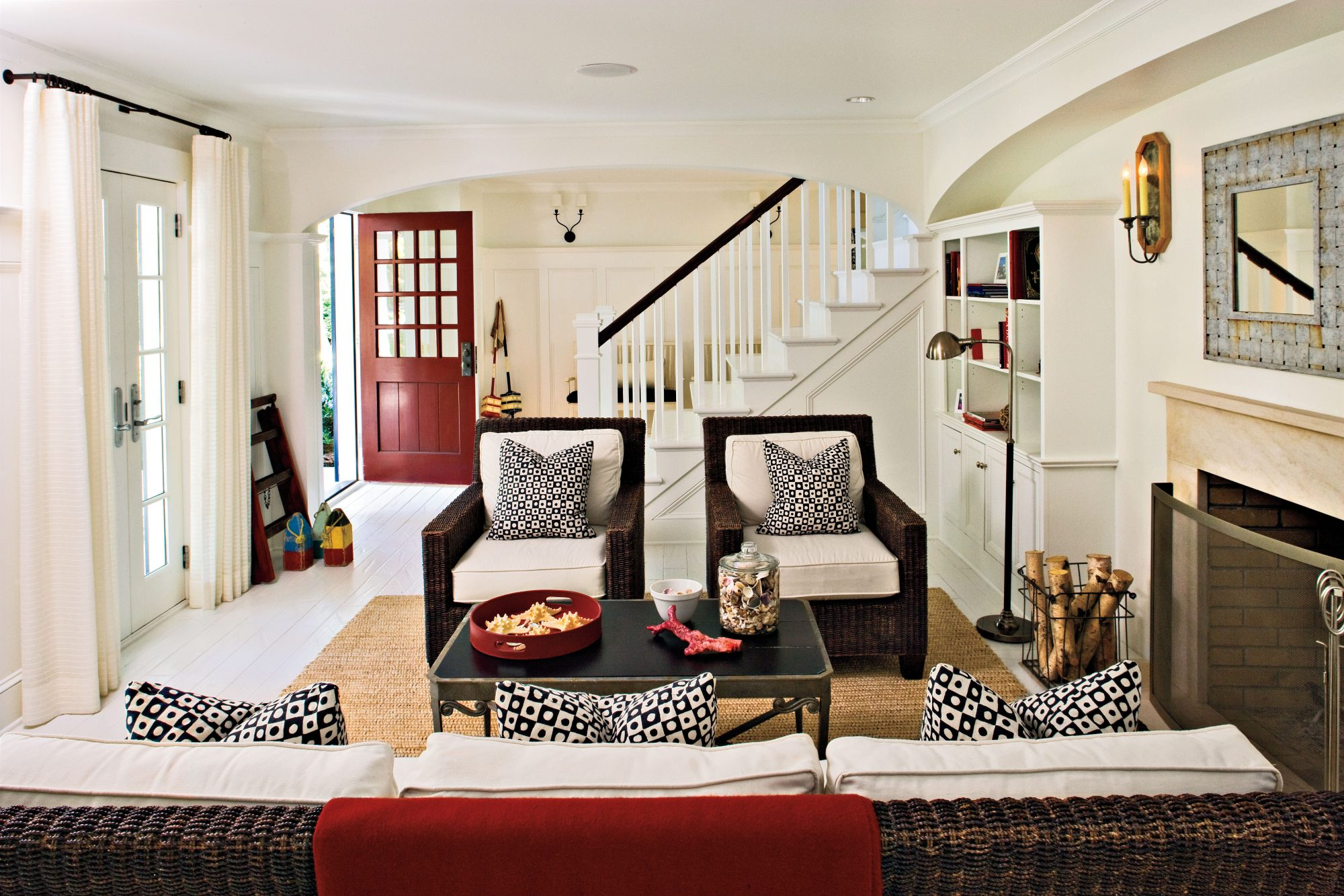 Living Room Makeover Before And After 18 Budgetfriendly Makeovers  Southern Living