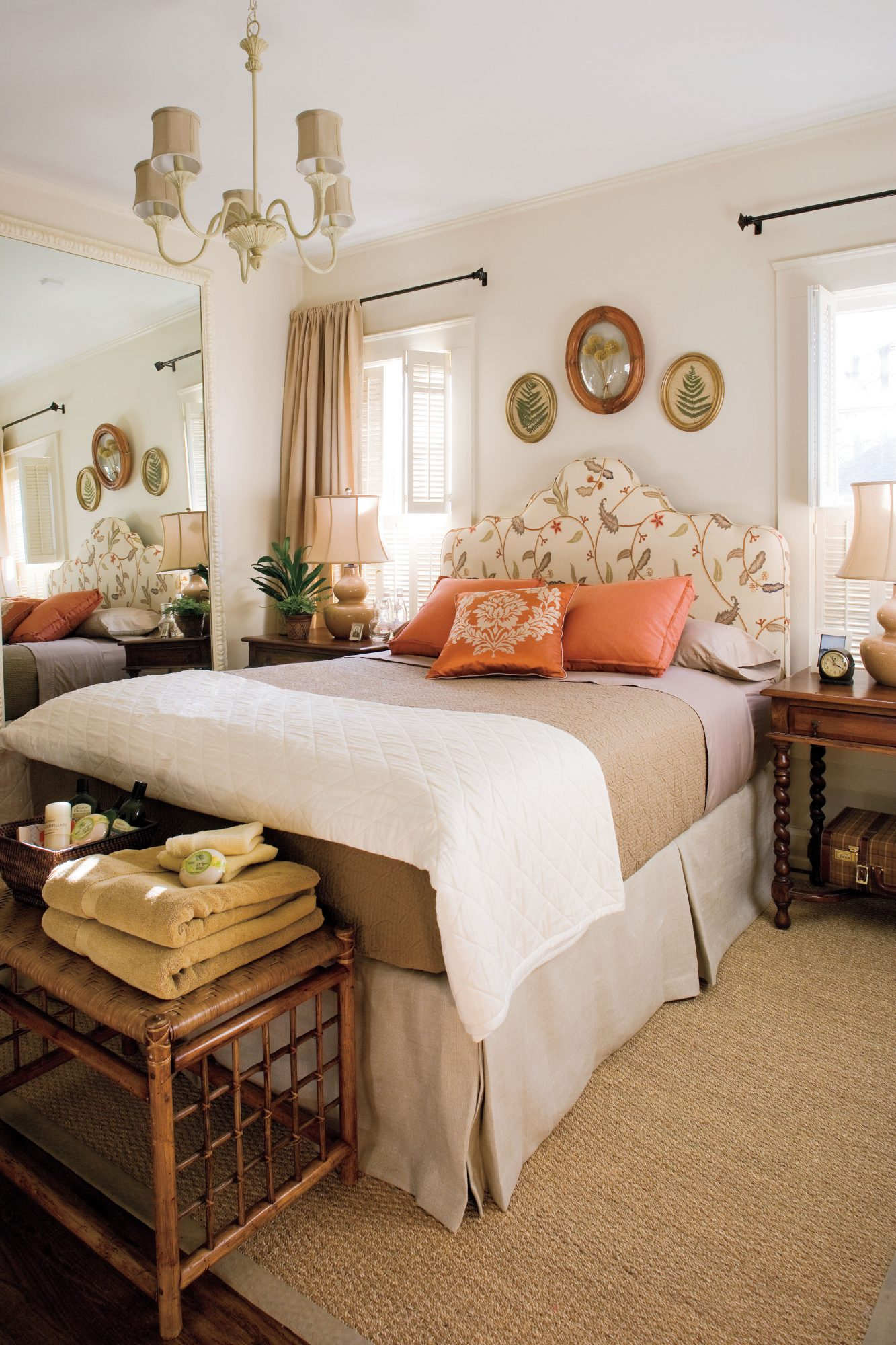 Comfortable Guest Room After