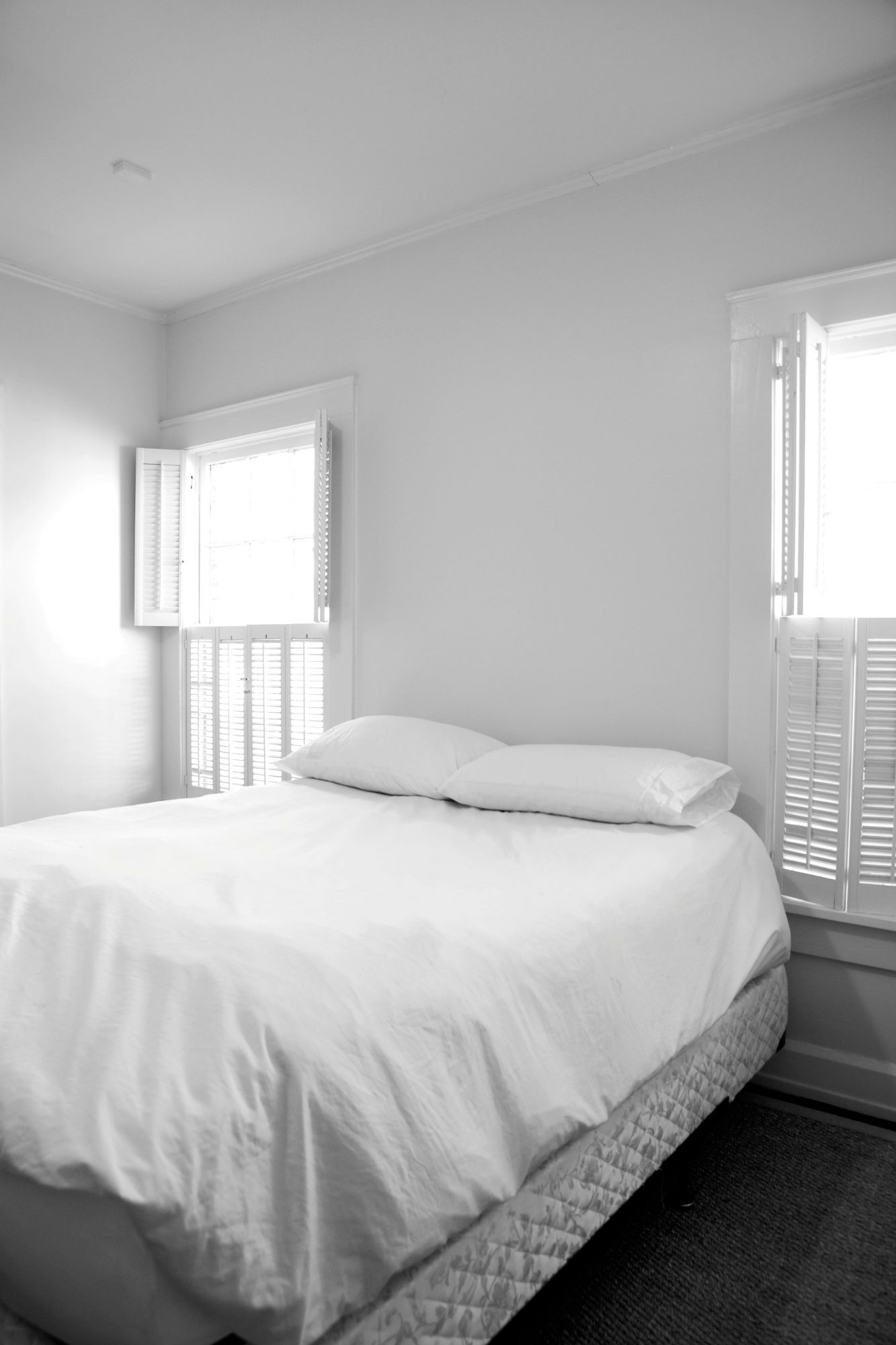 Comfortable Guest Room Before