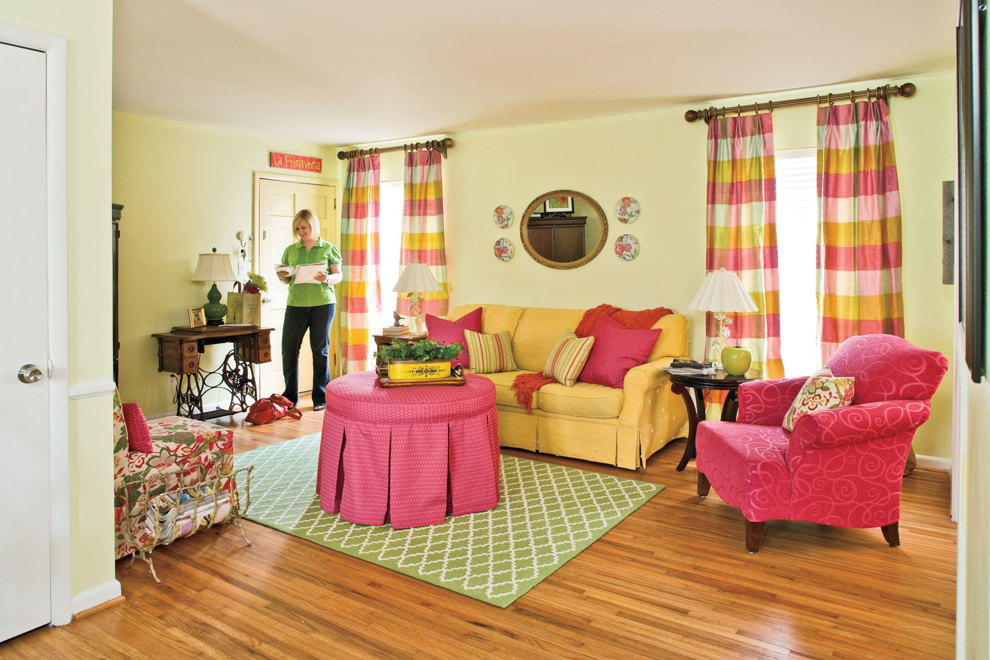 Colorful Living Room After