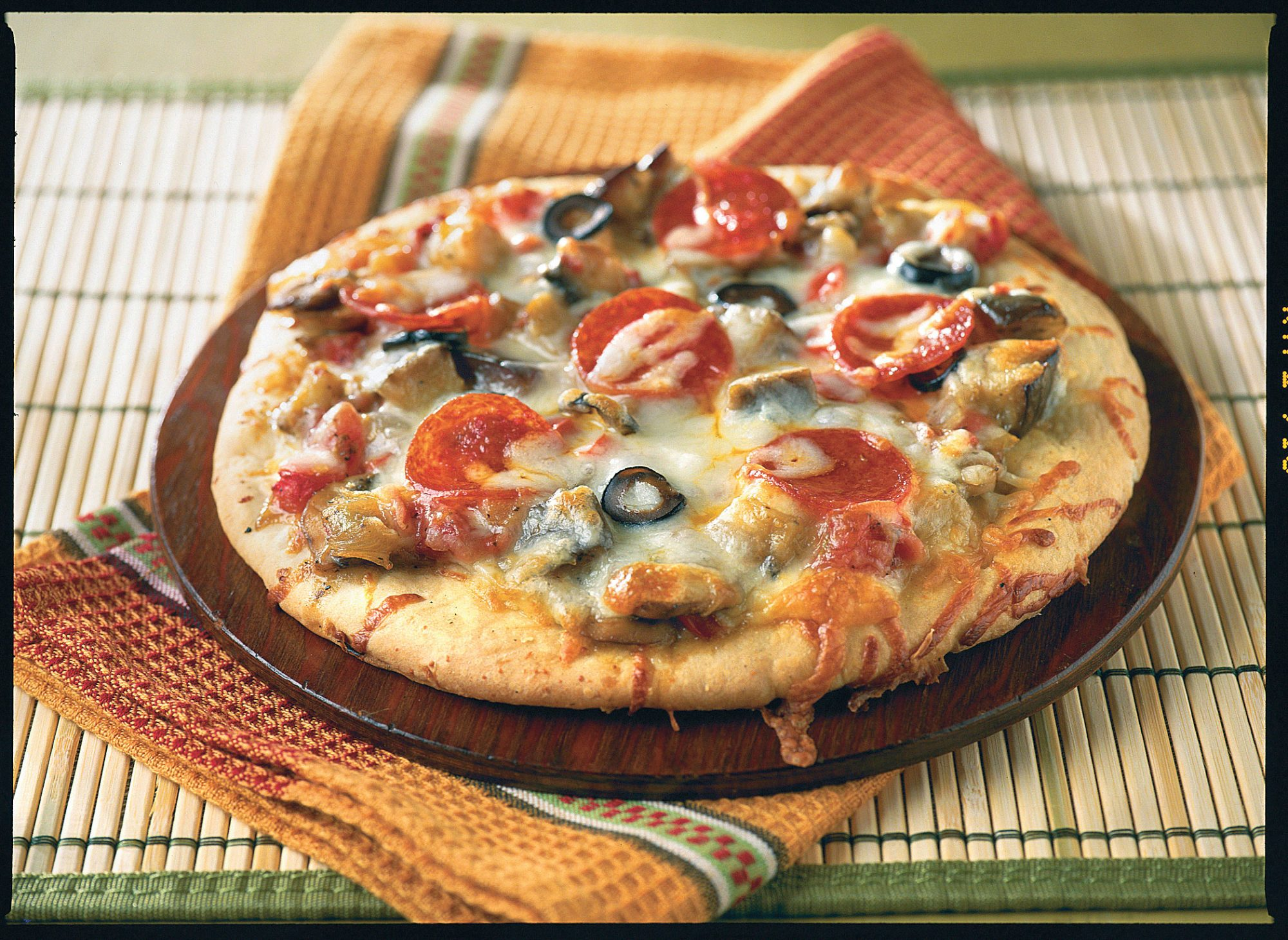 Individual Pizza with Day-by-Day Vegetable Medley
