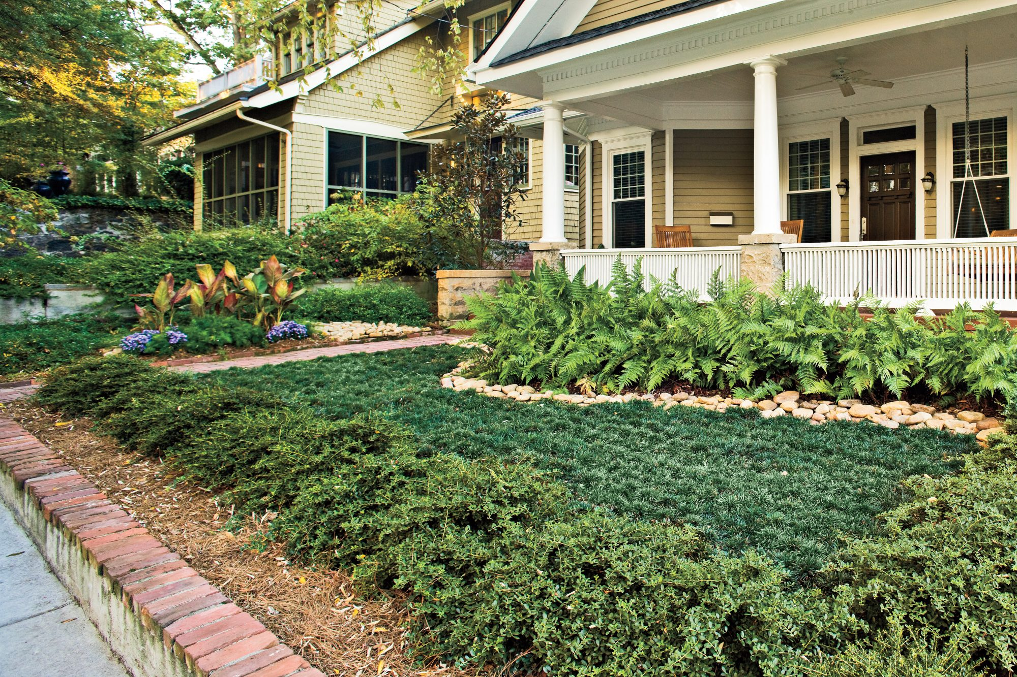 Garden Ideas To Replace Grass easy, no mow lawns - southern living