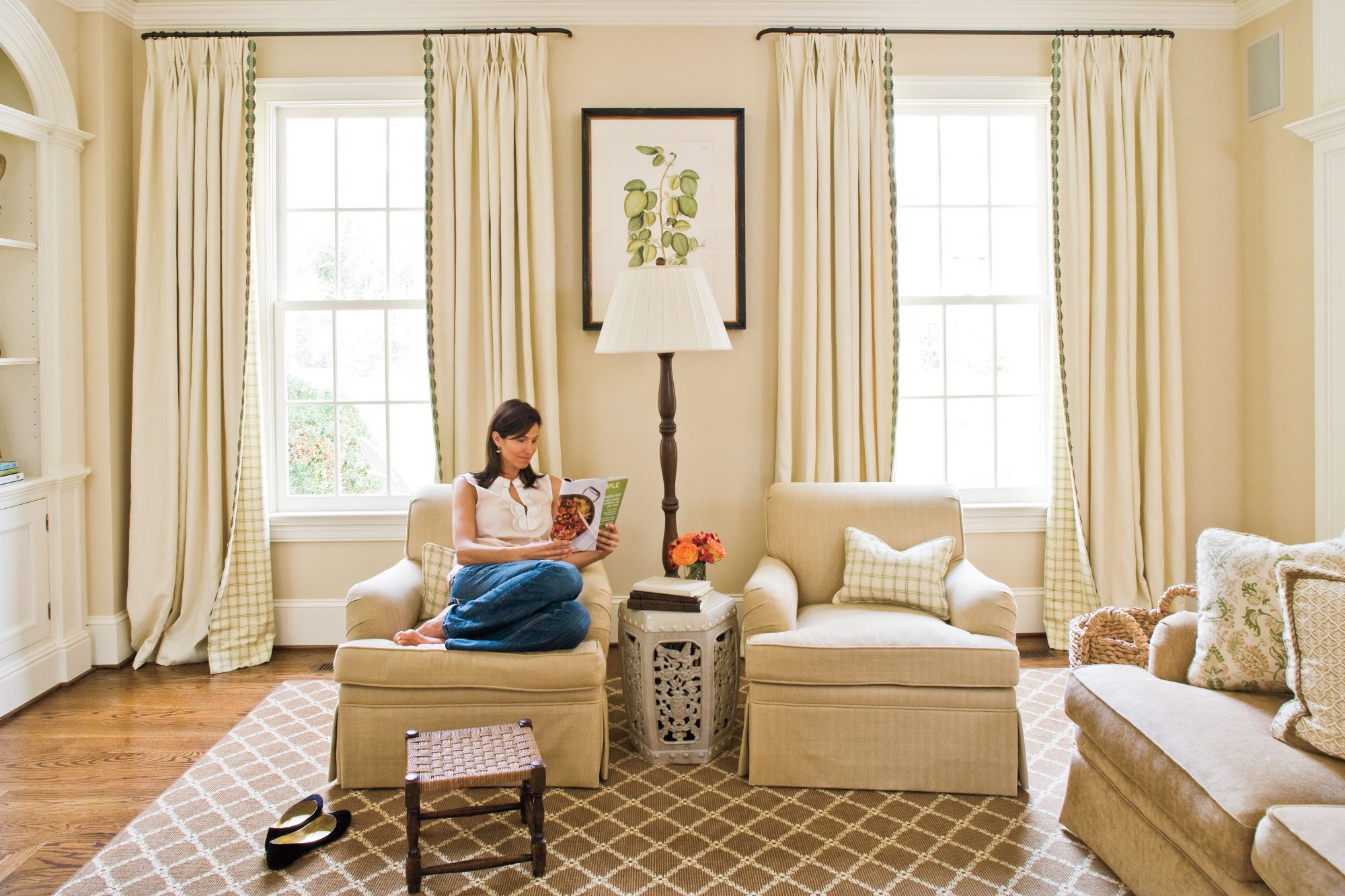 Neutral Window Treatments