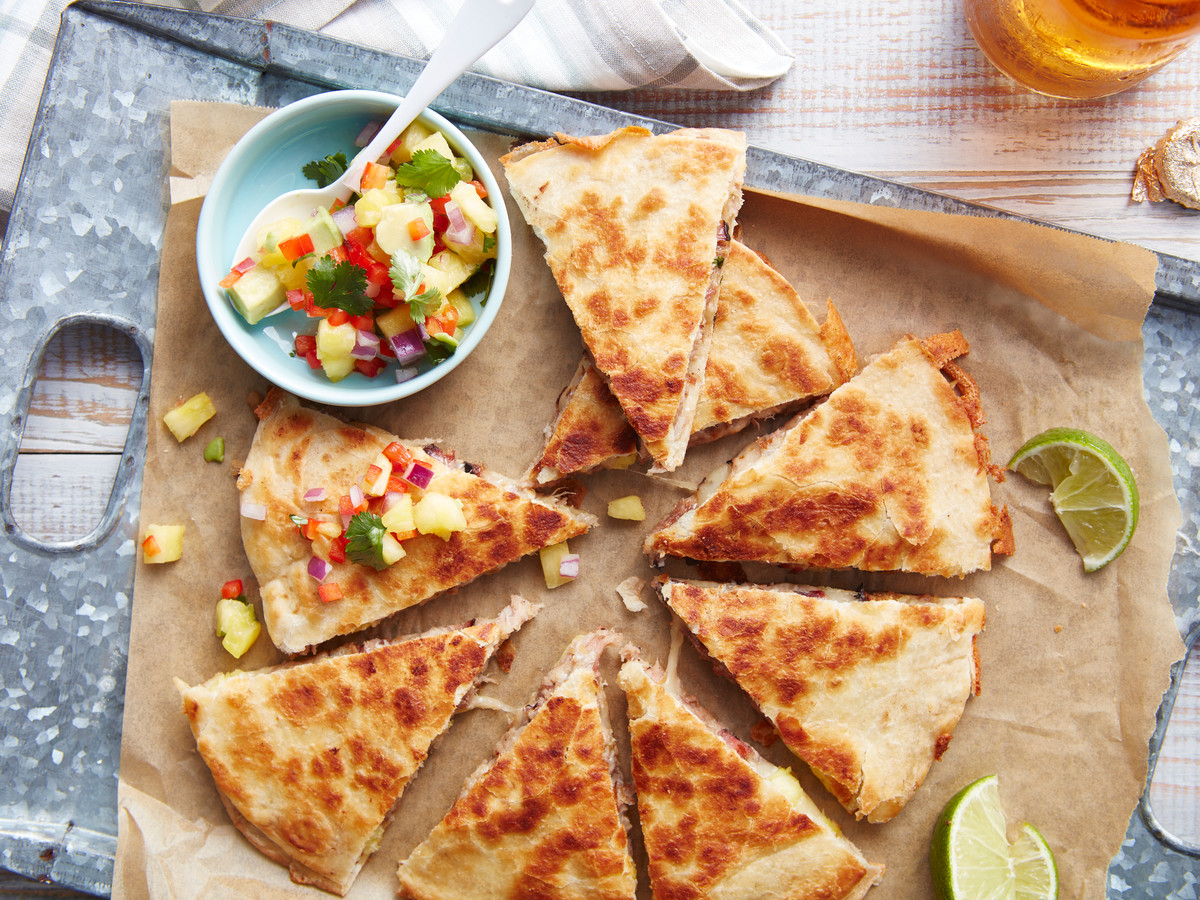 Quesadillas al Pastor Recipe