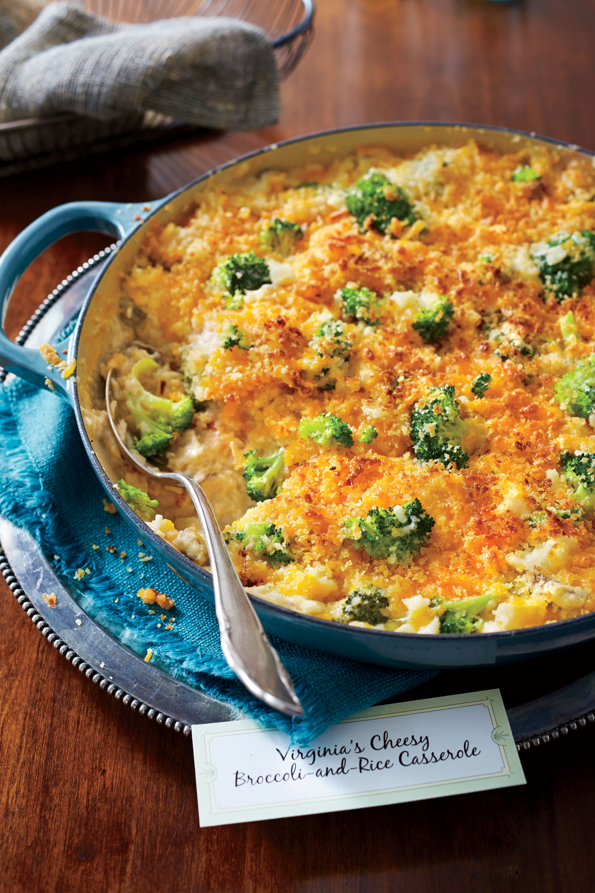 Cheesy Broccoli-and-Rice Casserole Recipe