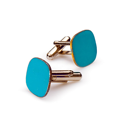 Enameled Cuff Links