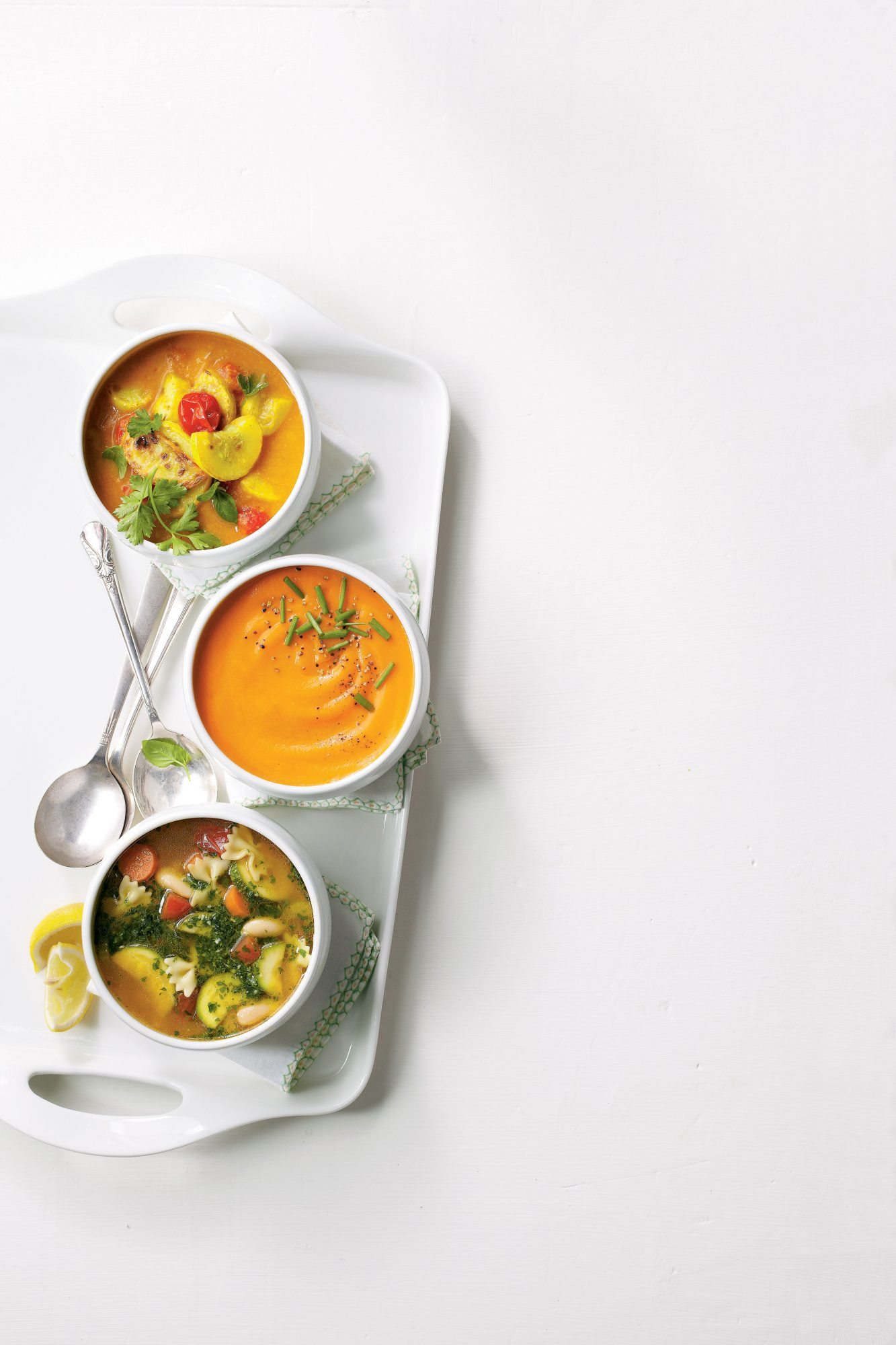 Carrot, Apple, and Ginger Soup