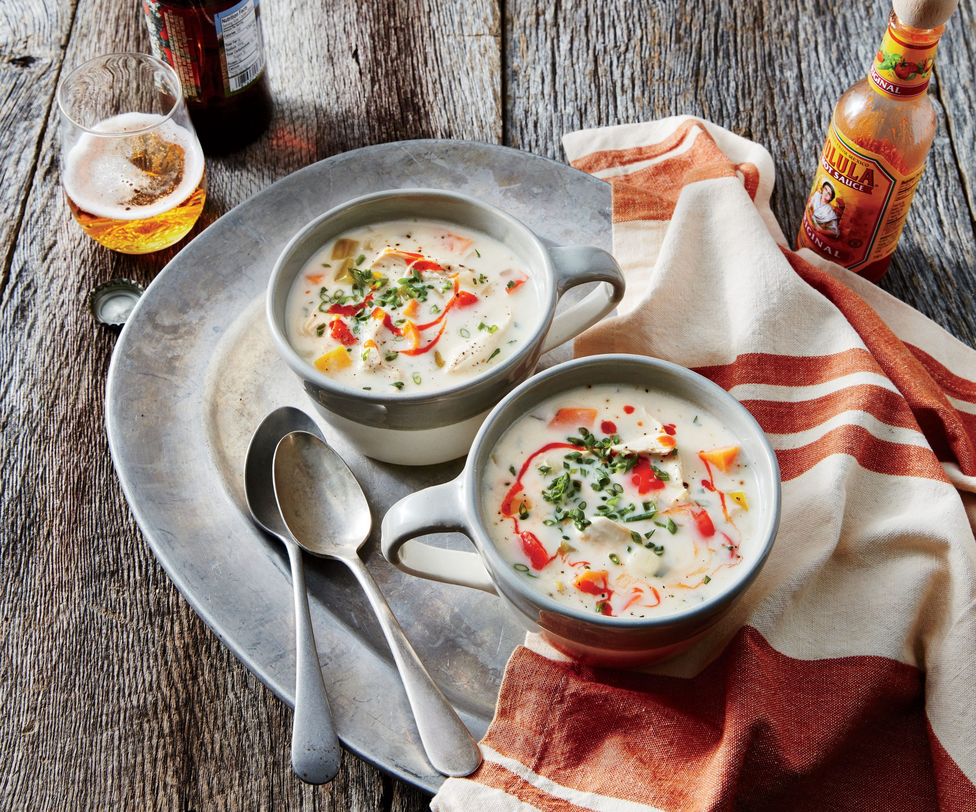 Chicken, Sweet Potato, and Corn Slow-Cooker Chowder Recipe