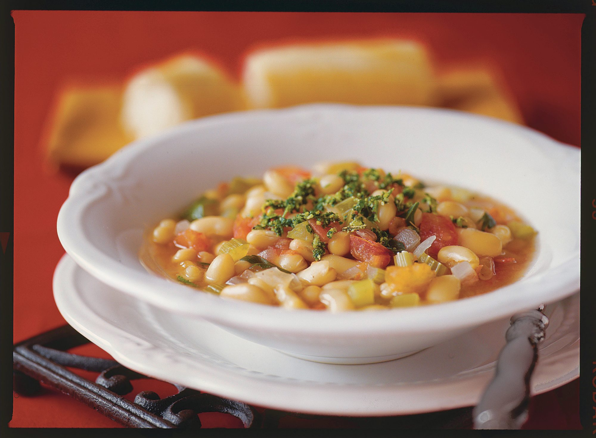 Soup Recipes: White Bean Soup with Gremolata