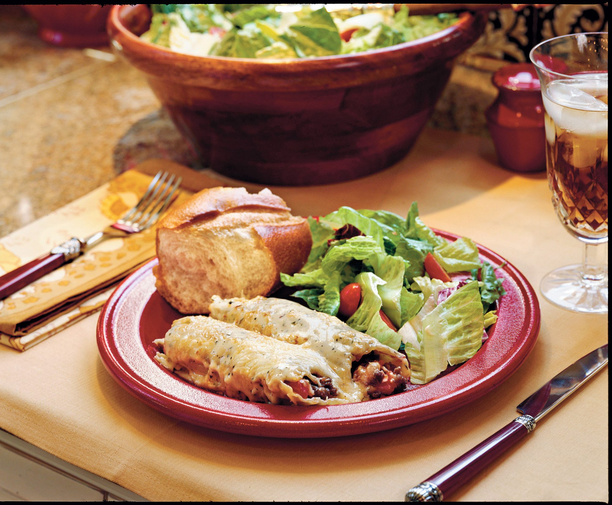 Ground Beef Recipes: Meaty Cheesy Manicotti