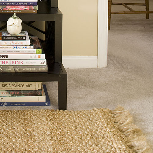 Layer Rugs Over Carpet