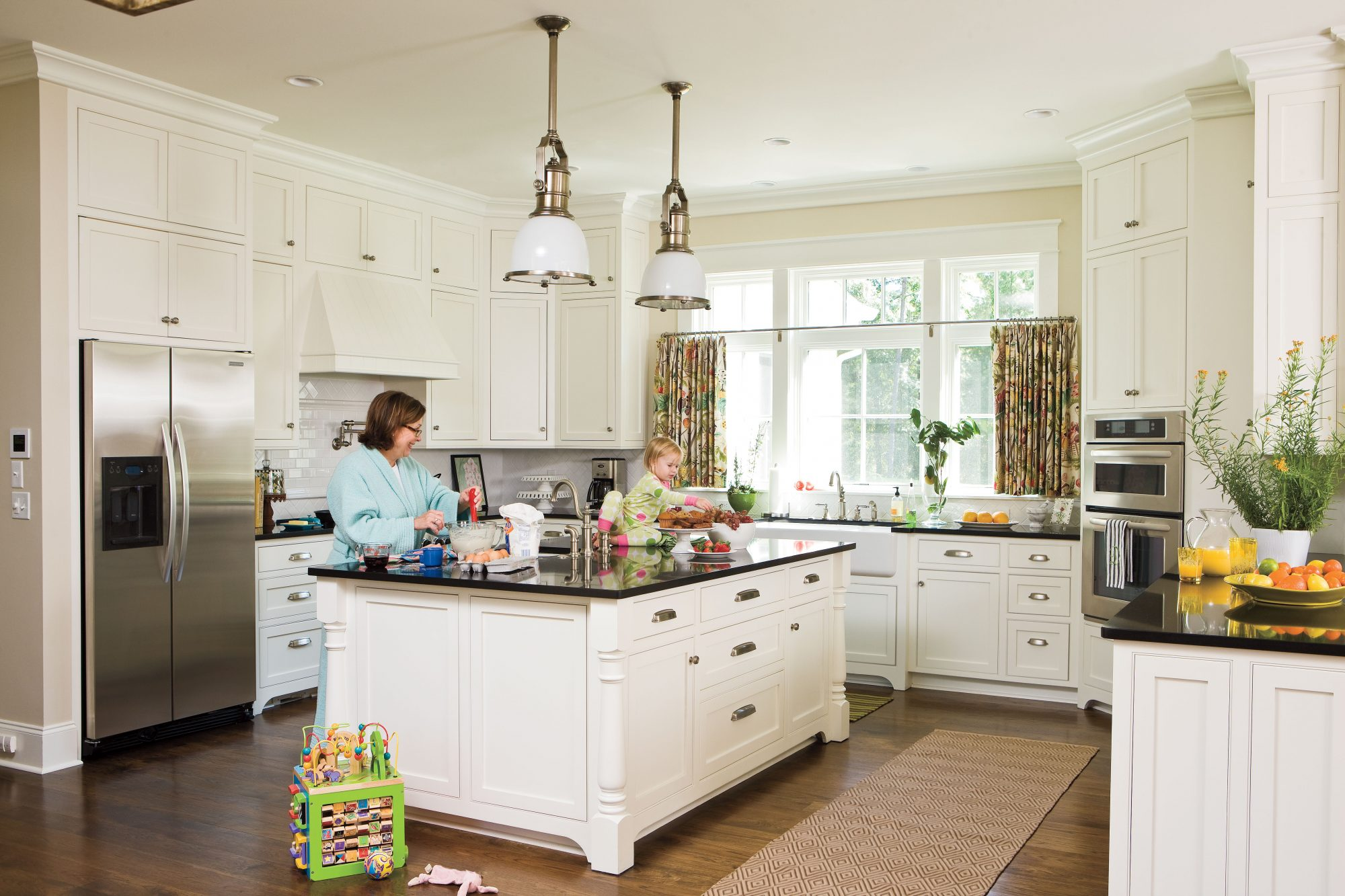 Ideas for Southern Homes: Kitchen Cabinet Details