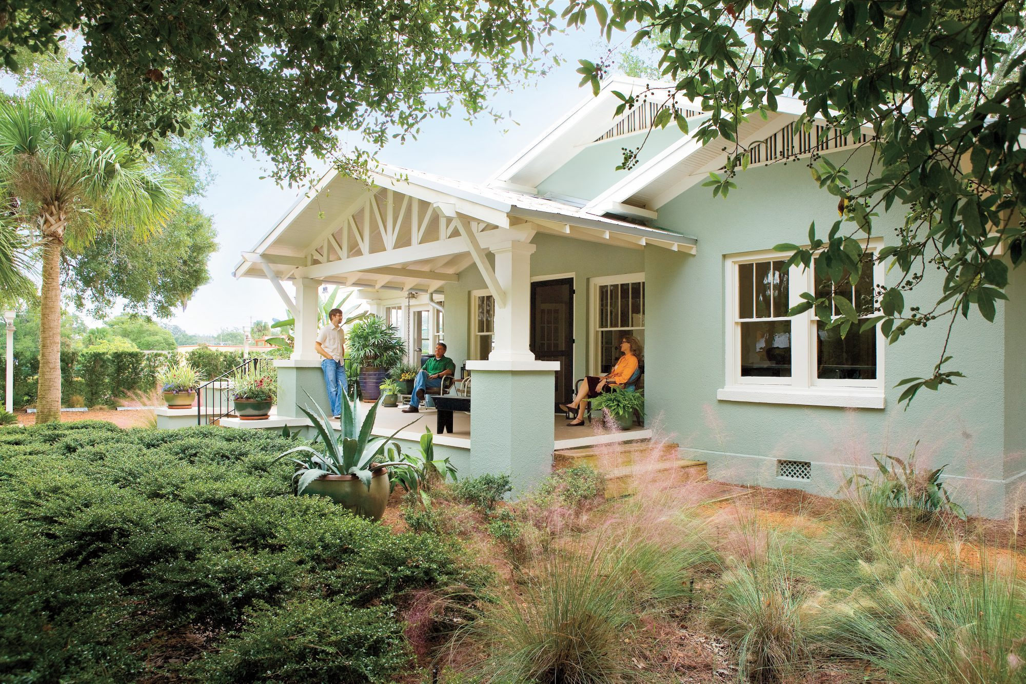 Ways to Save Water in Your Yard: Bungalow Yard Design