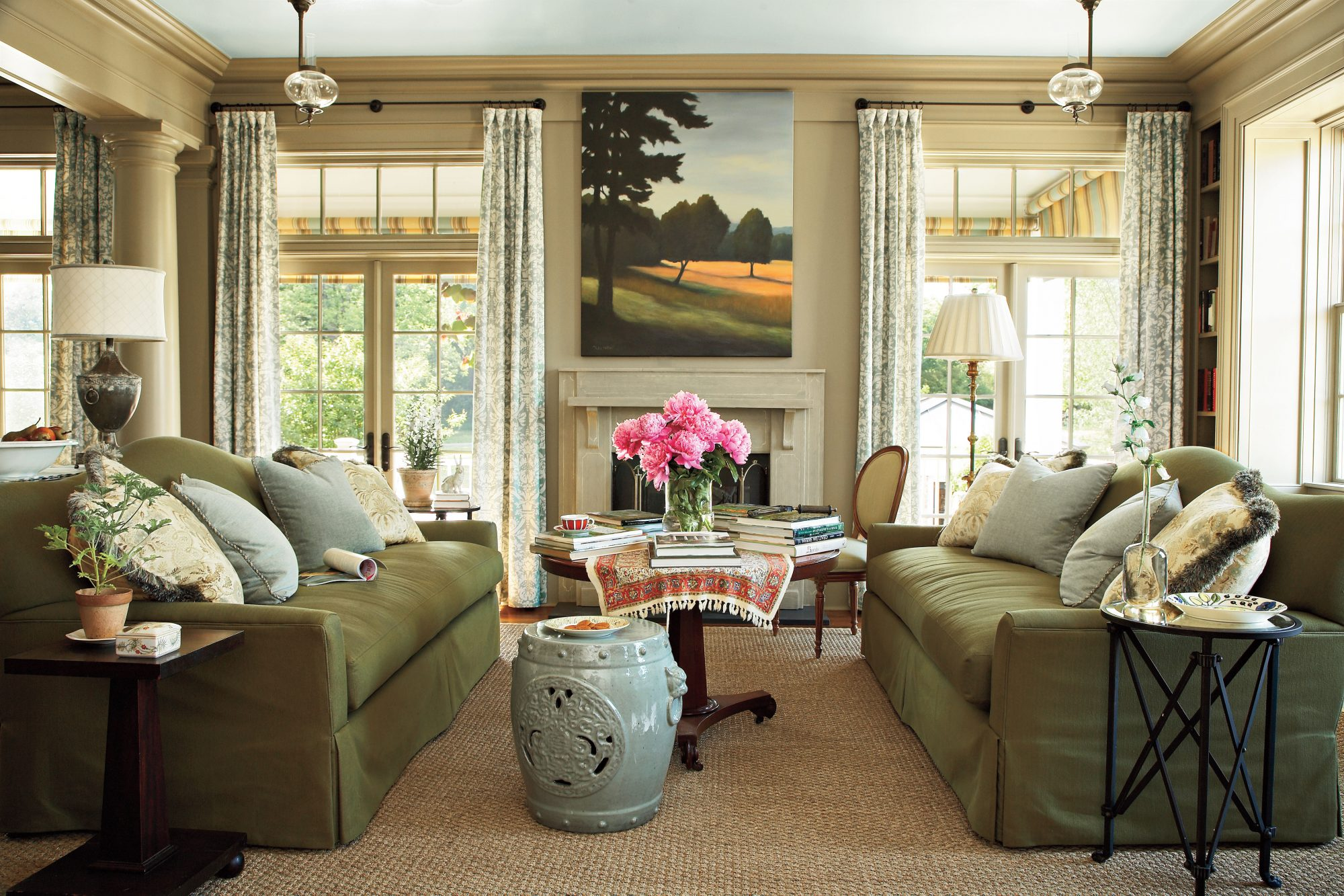 Living Room Decorating Ideas Southern Living - Living room decorating ideas traditional