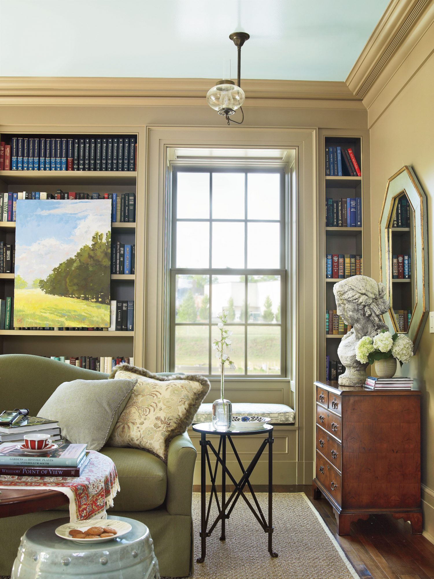 Living Room Bookcase Wall