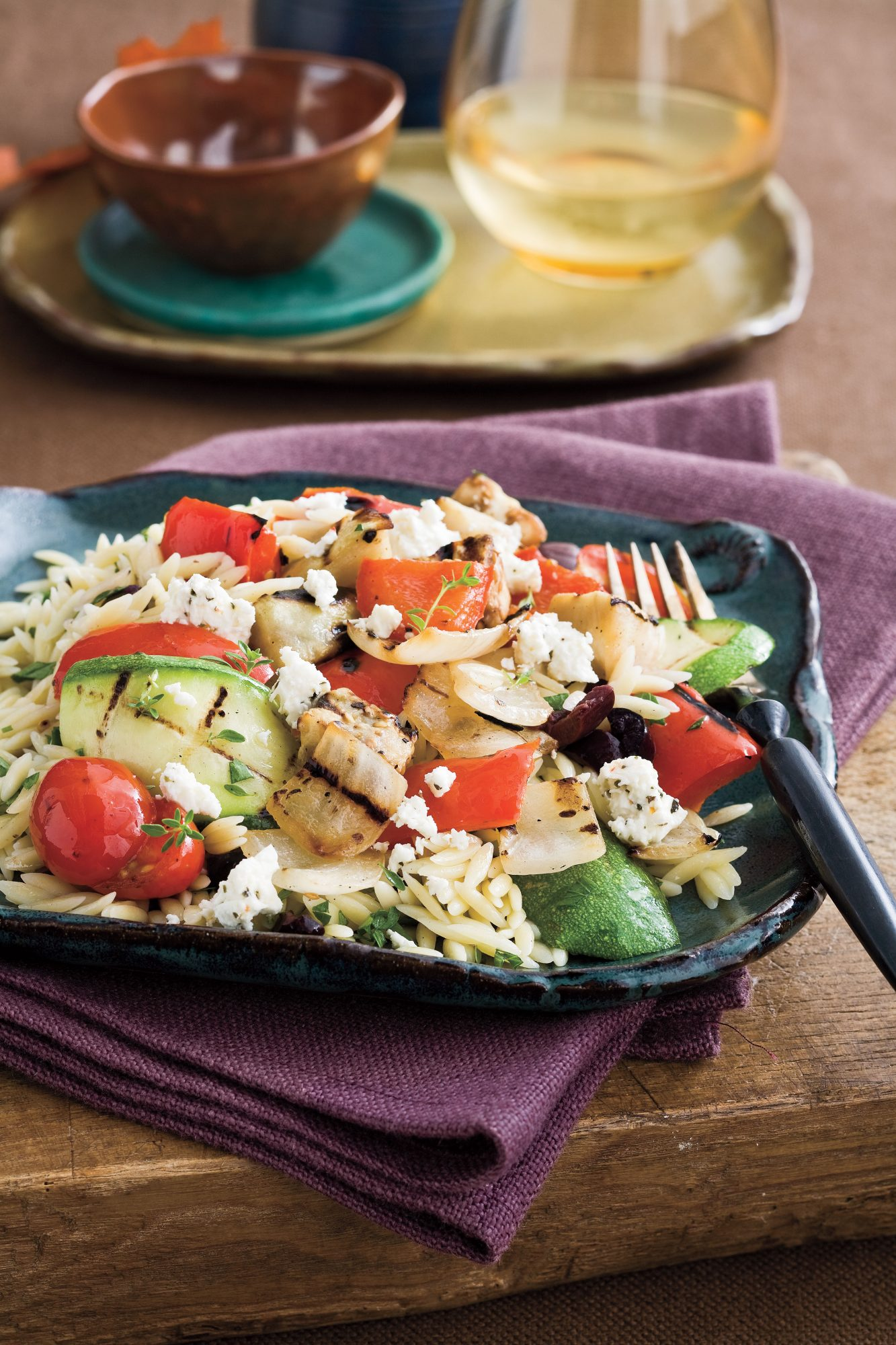 Top-Rated Main Dishes: Mediterranean Orzo