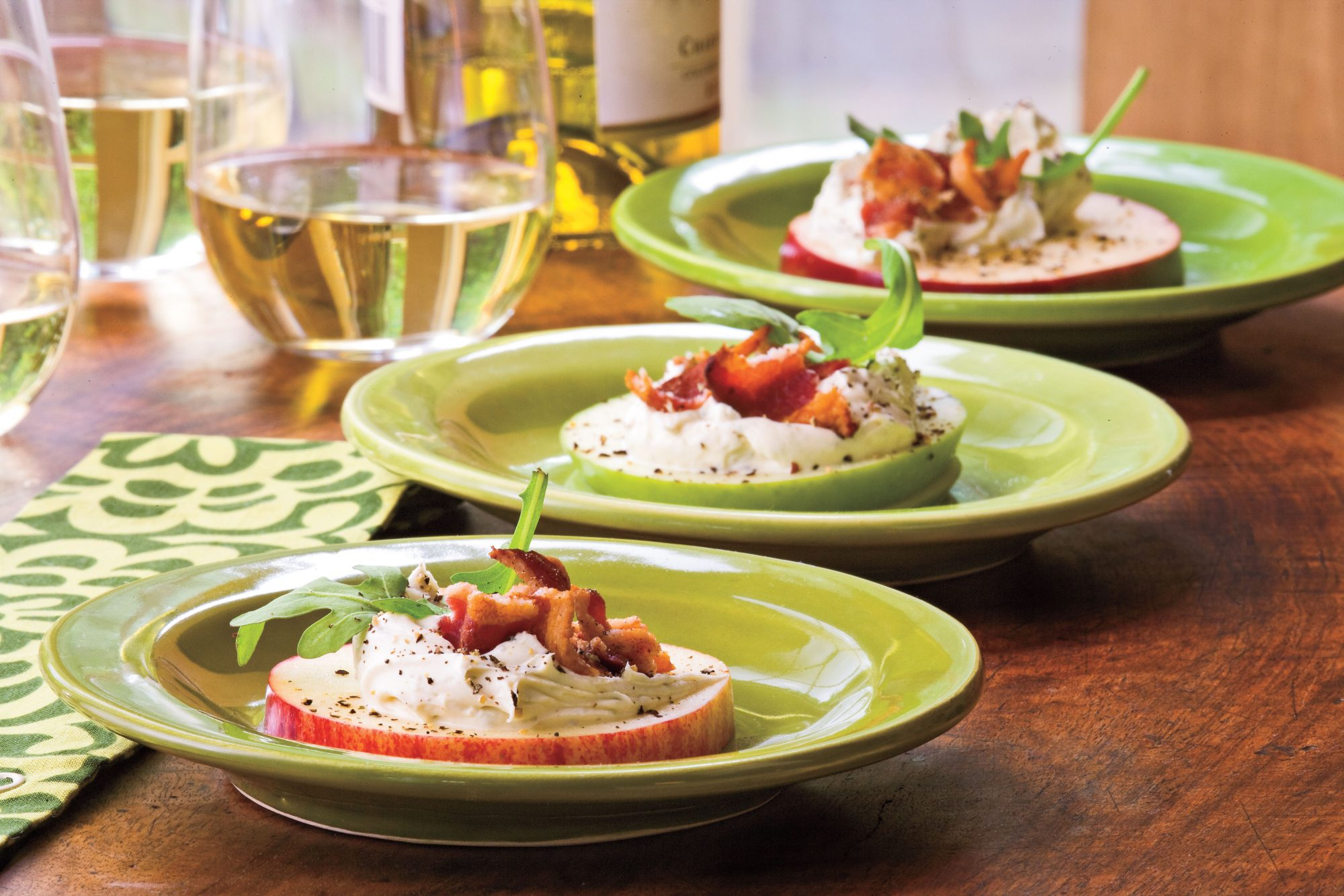 Bacon-Arugula-Apple Holiday Appetizer Recipes