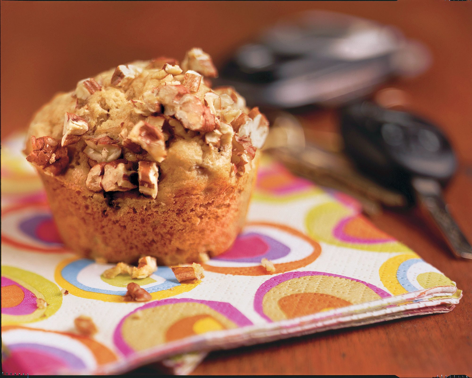 Brown Sugar-Banana Muffins