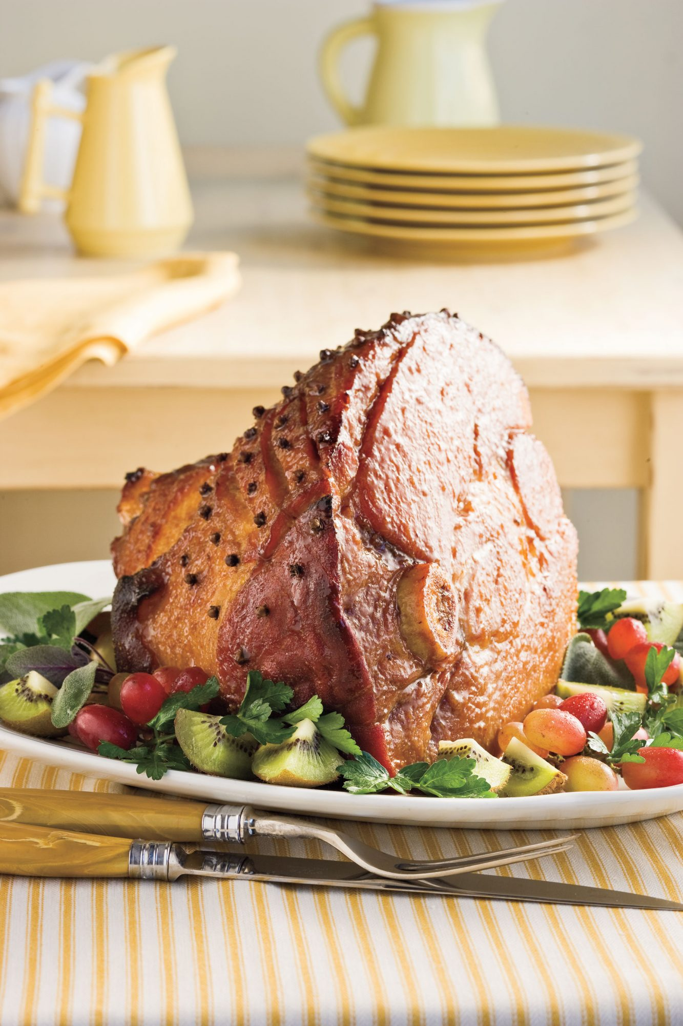 Southern Living Recipe: Honey-Bourbon Glazed Ham