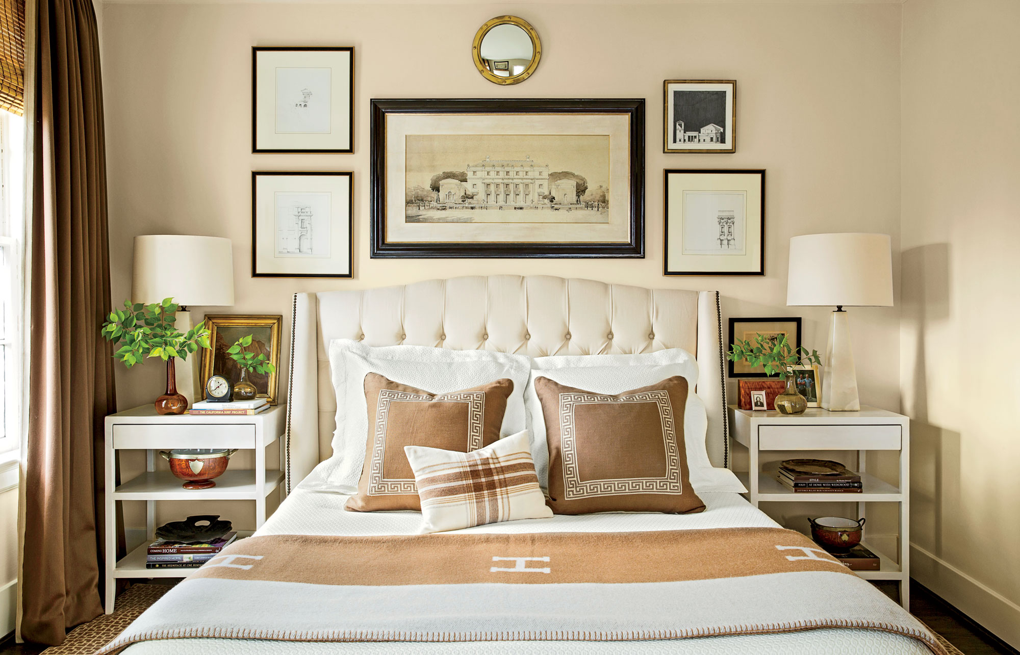 Master Bedroom Decorating Ideas - Southern Living on Main Bedroom Decor  id=97505