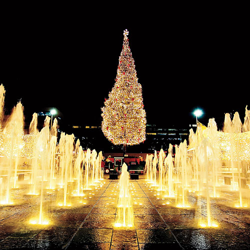 Kansas City Plaza Christmas Lights and Mayor's Christmas Tree ...