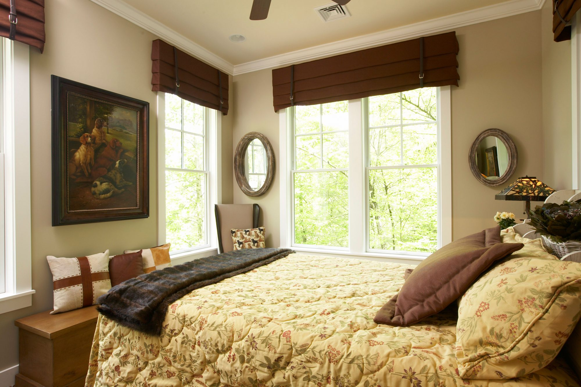 Window Treatments For Bedrooms bedroom window treatments - southern living