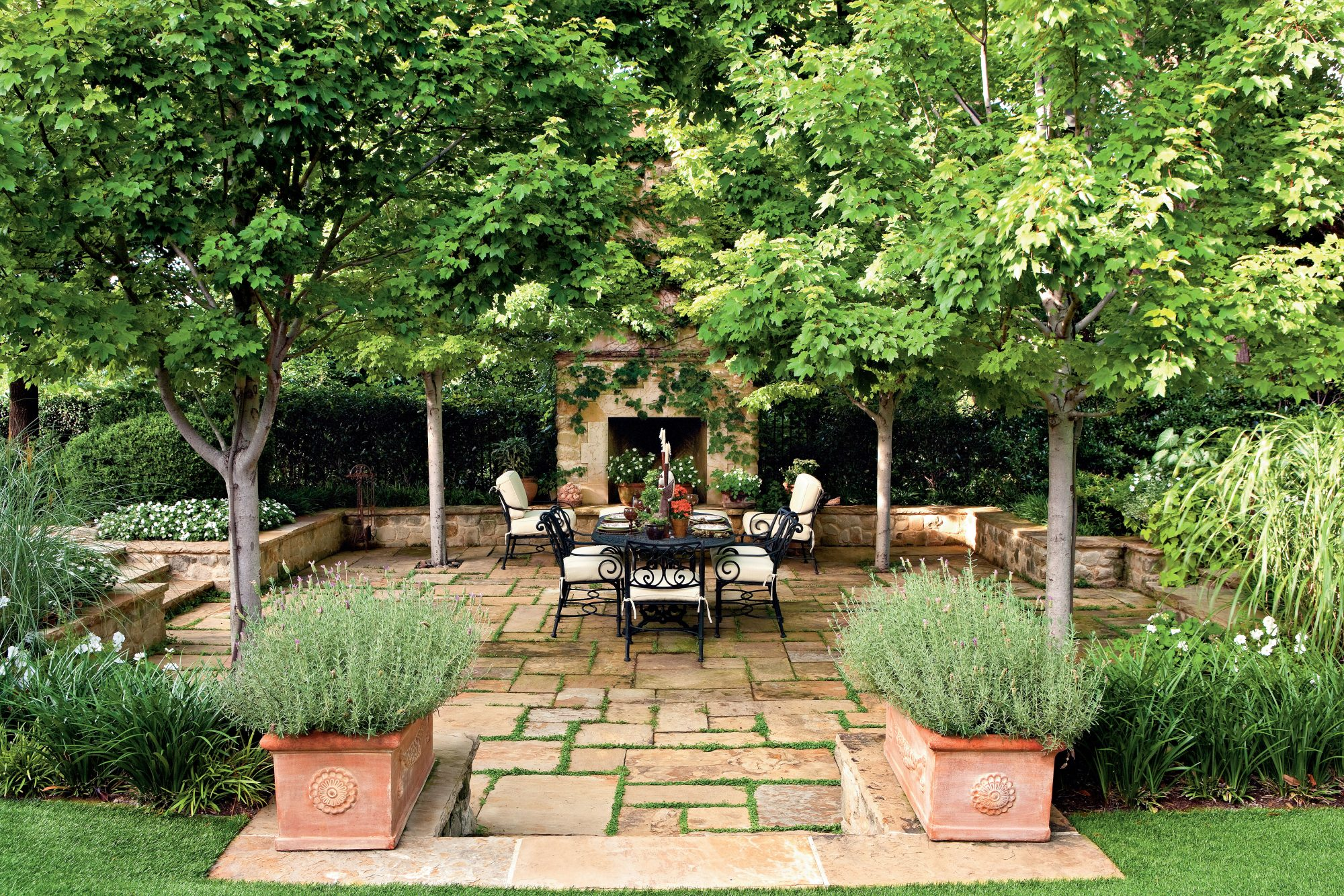 Classic Courtyards Southern Living