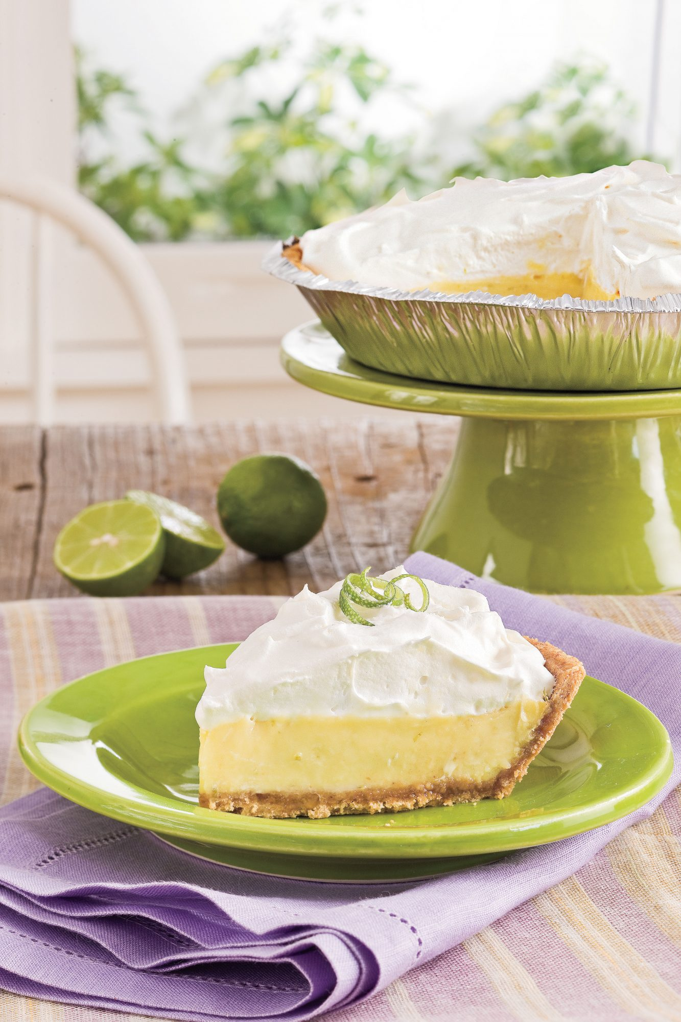 Old fashioned key lime pie