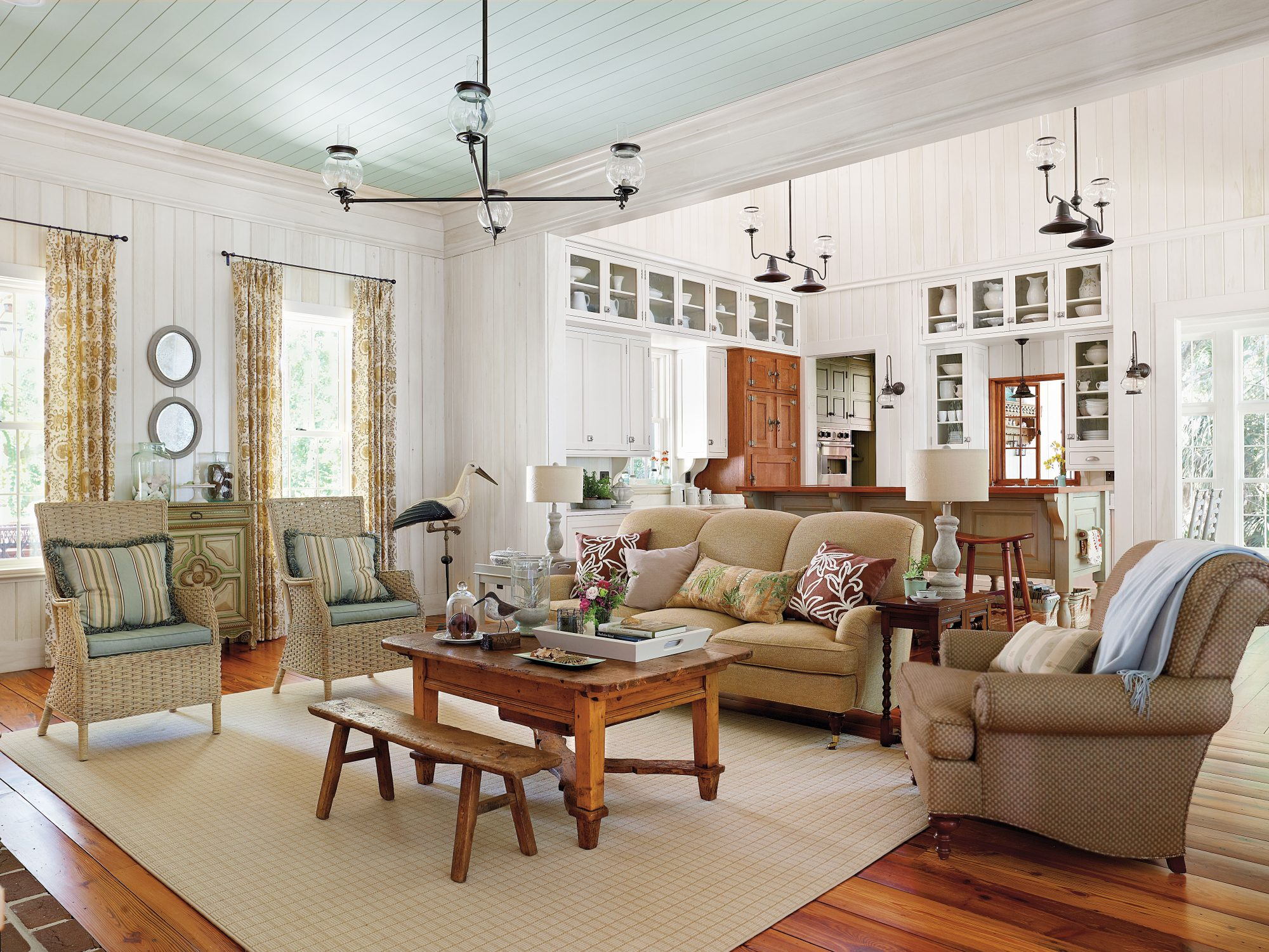 Creating a Vintage Look in a New Home - Southern Living