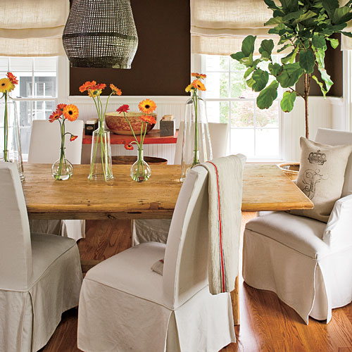Casual, Contempoary Dining Rooms · Home Decor Ideas