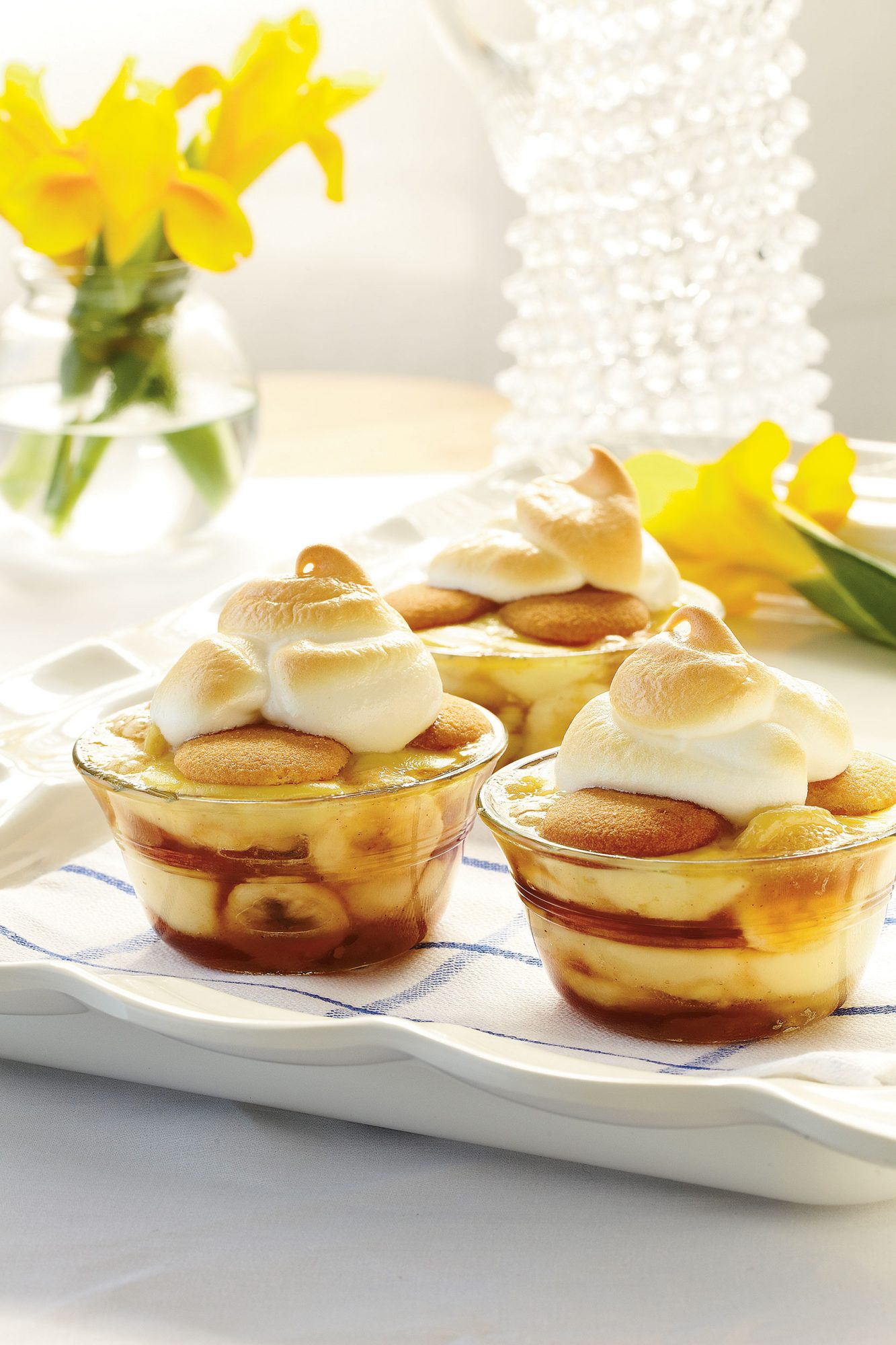 Dessert Recipes: Caramelized Banana Pudding